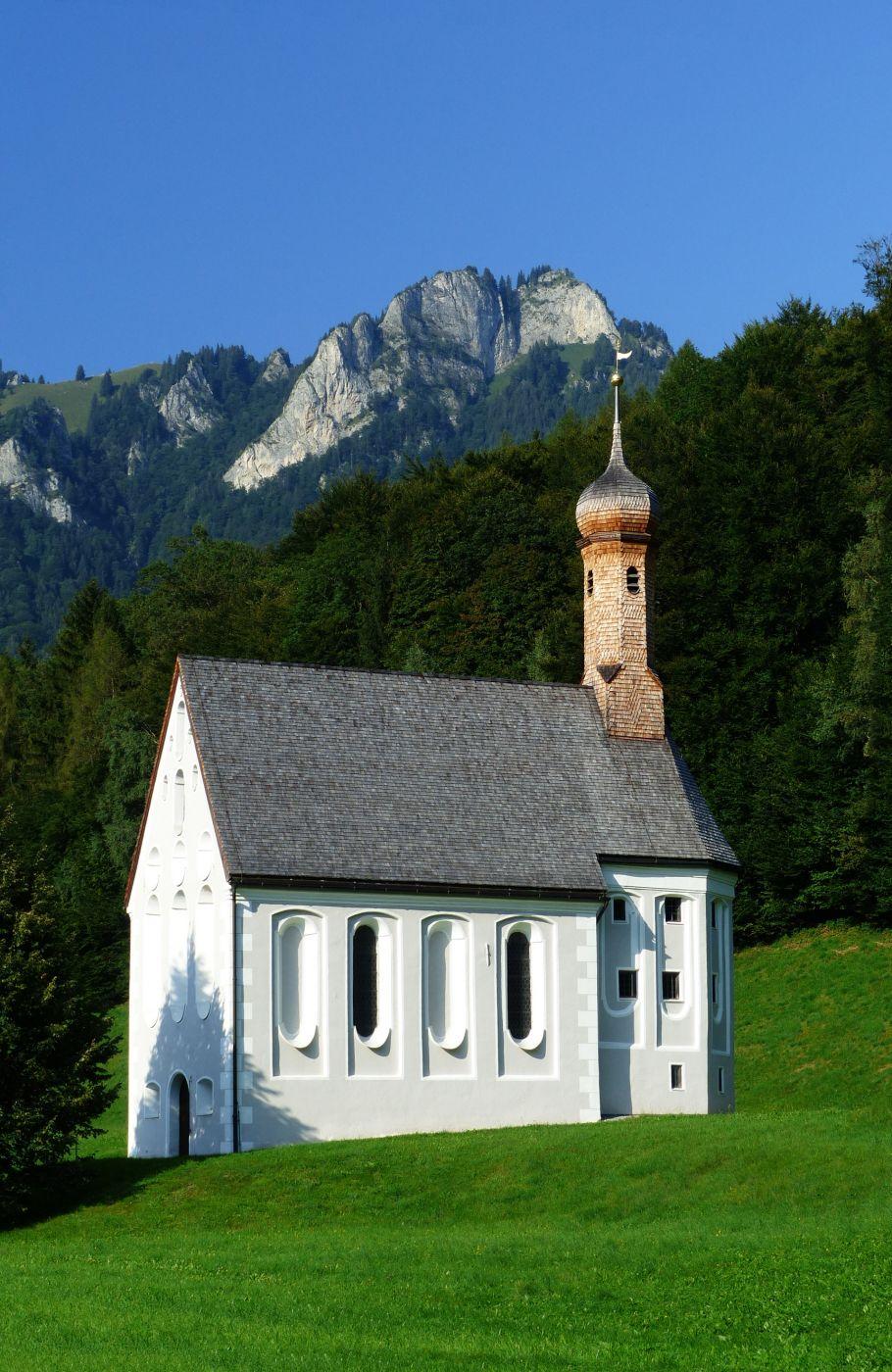 Church Heilig Kreuz, Austria