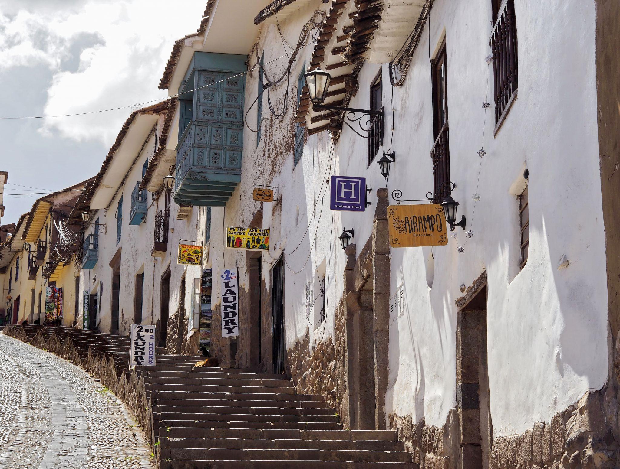 Cusco old town, Peru