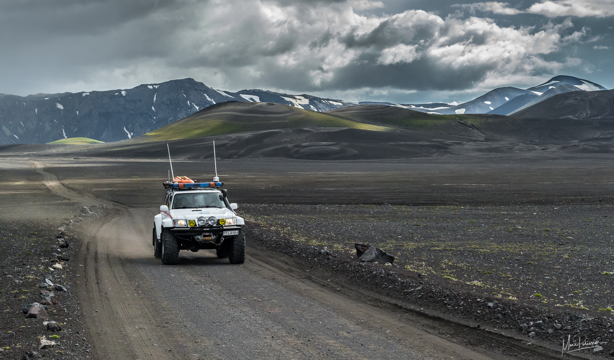 F208 track to Landmannalaugar, Iceland