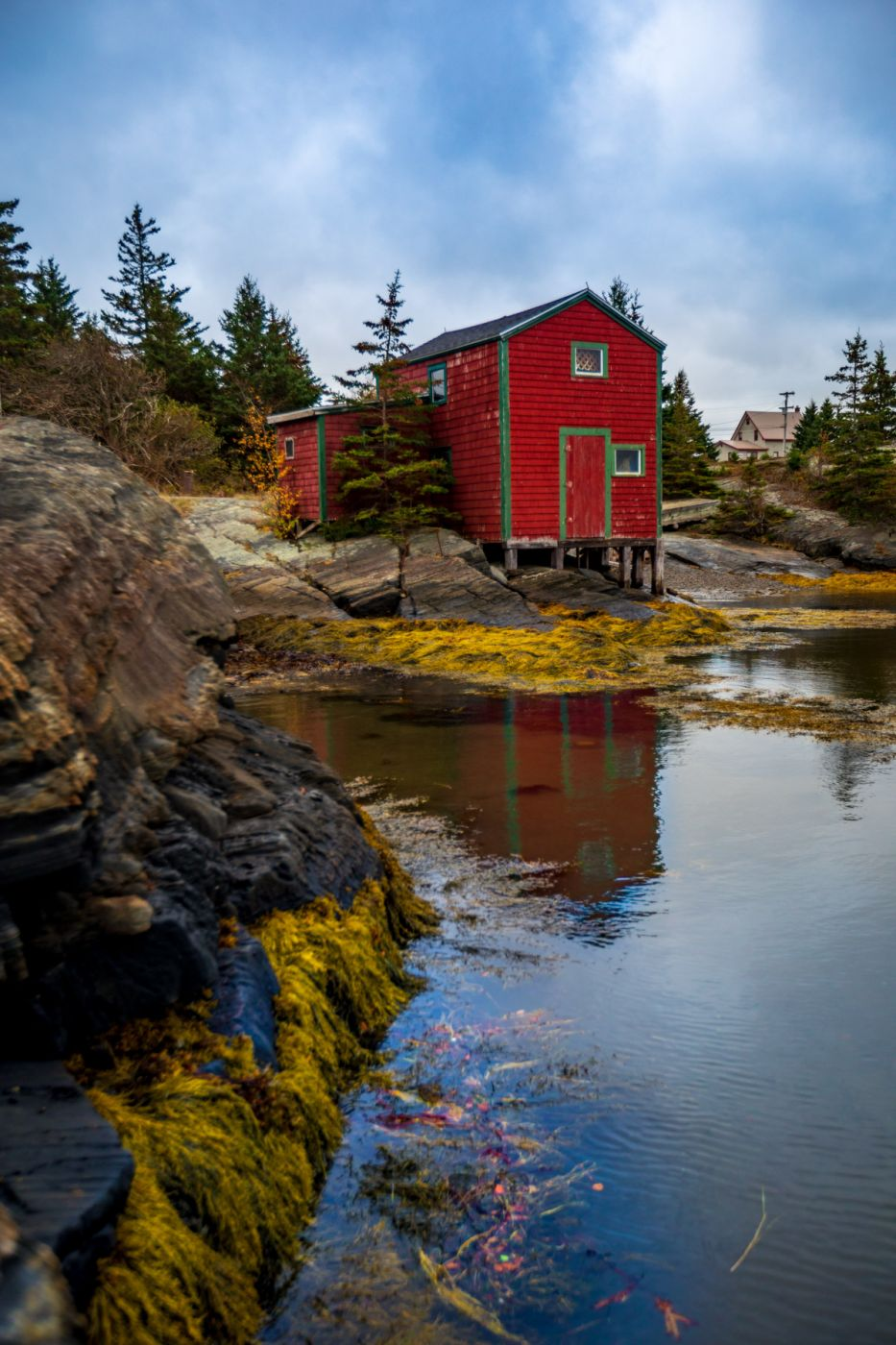 Fishing Shed Blue Rocks, Nova Scotia, Canada