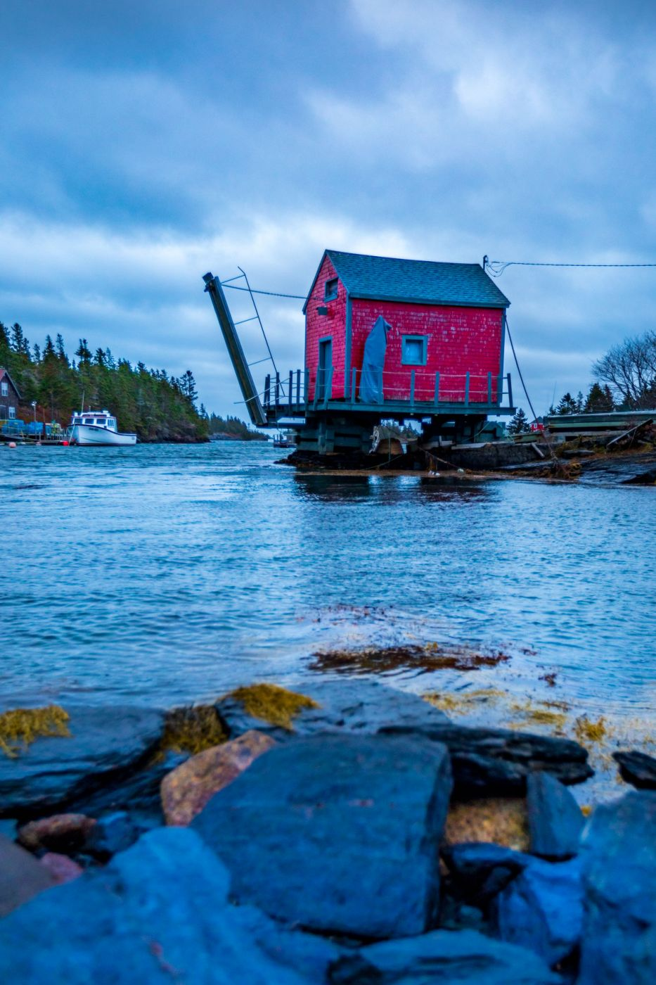 Fishing Shed Stonehurst East, Blue Rocks, Nova Scotia, Canada
