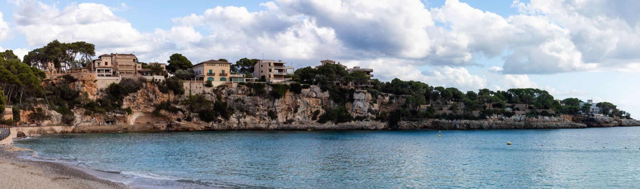Hafen von Porto Christo auf Mallorca, Spain