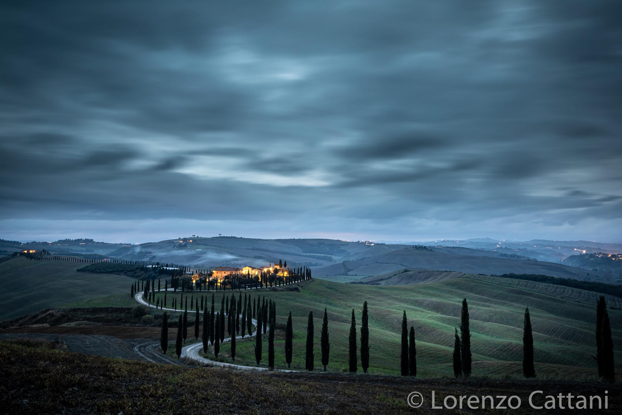 il Viale dei Cipressi, Italy