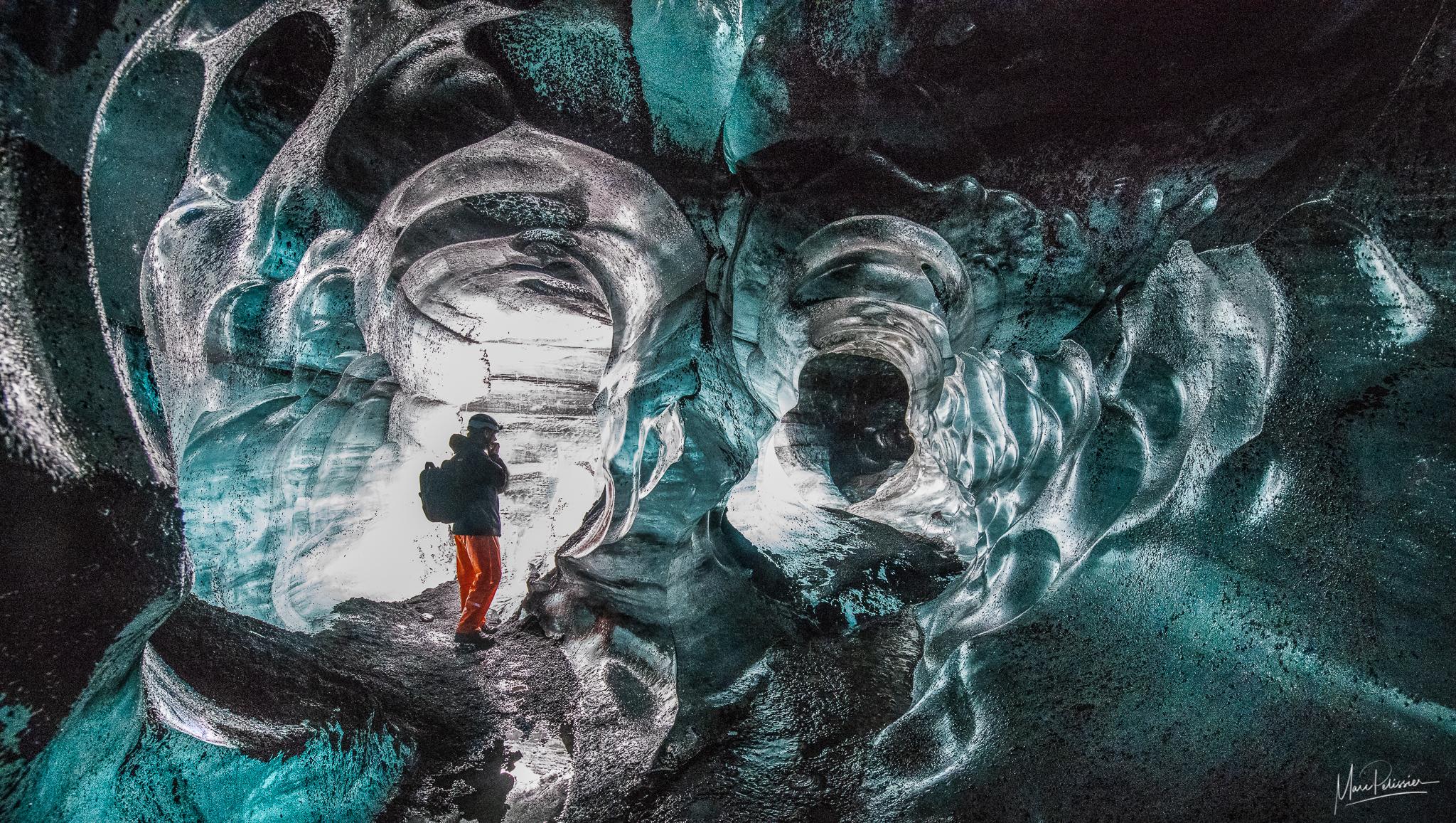 Katla ice cave, Iceland