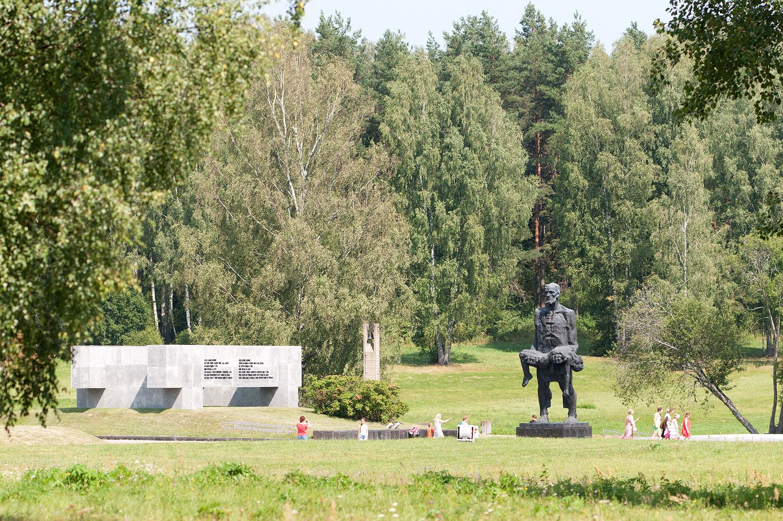Khatyn memorial complex, Belarus