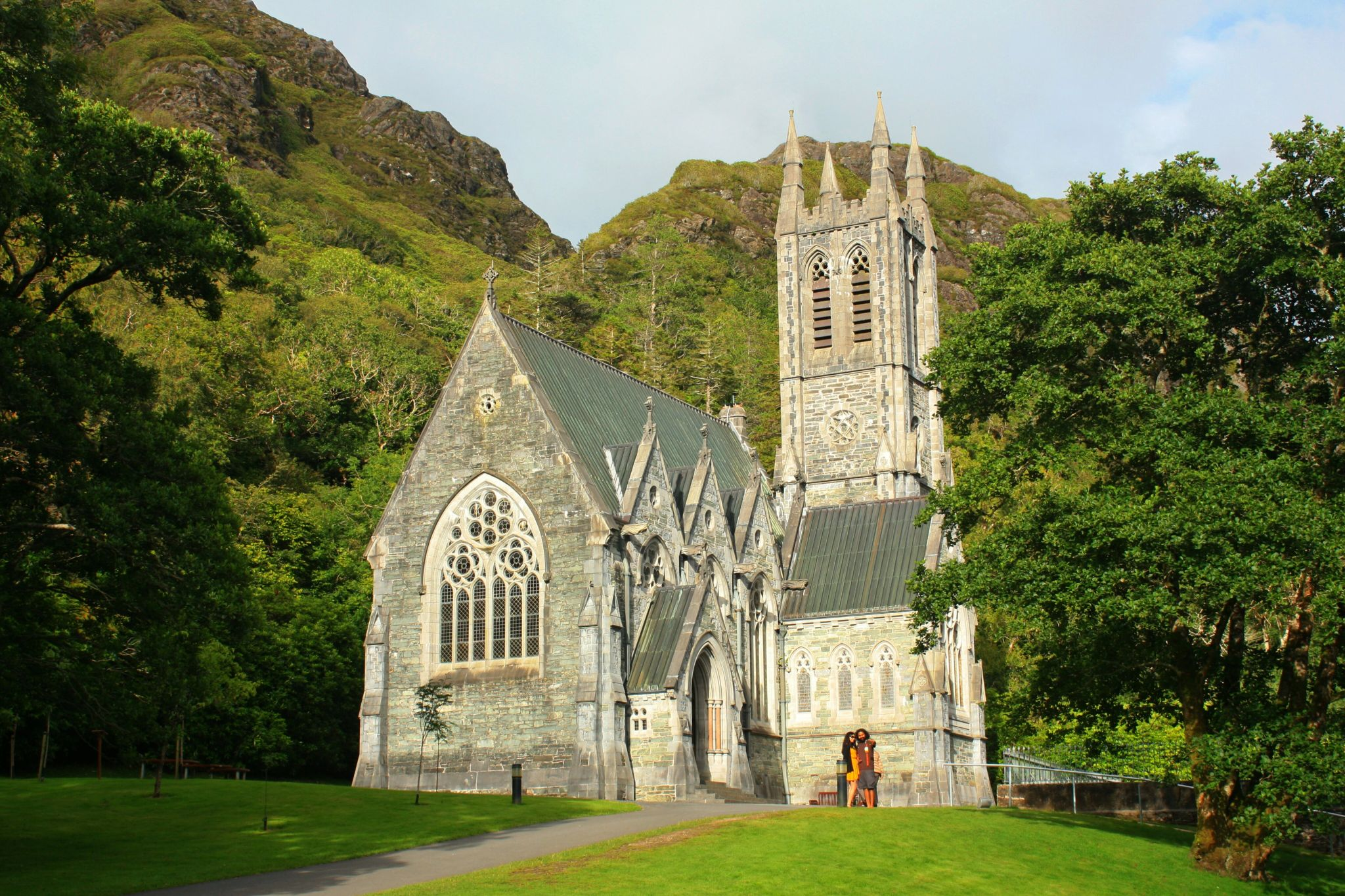 Kylemore's Neo-Gothic Church, Ireland