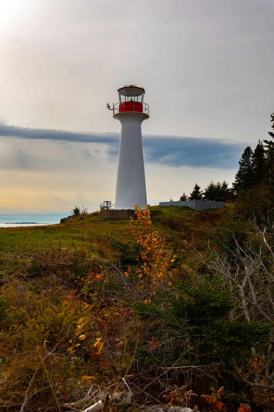 Lighthouse Point Lighthouse, Beaver Harbour, New Brunswick, Canada