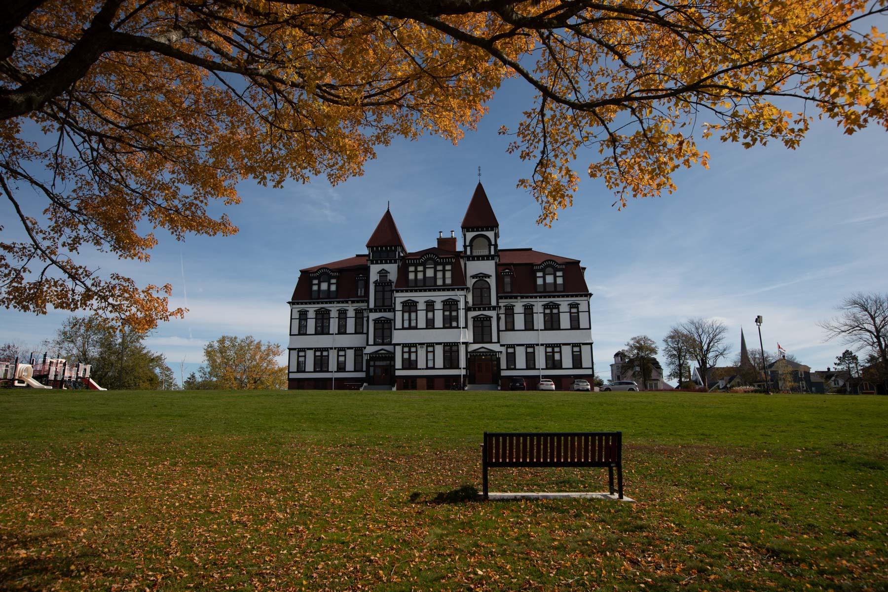 Lunenburg Academy & Seat, Nova Scotia, Canada