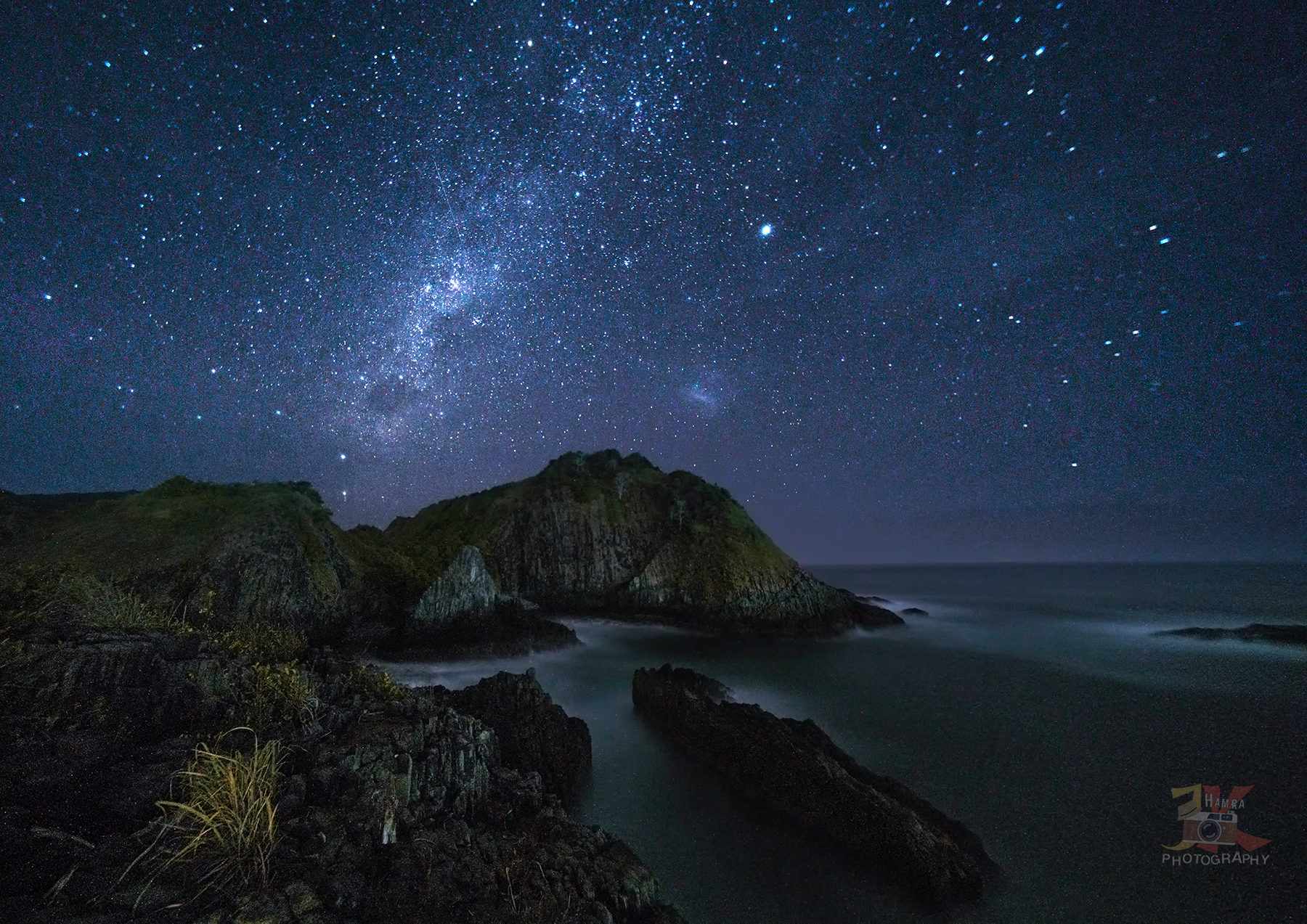 Milkyway at Pantai Semeti, Indonesia