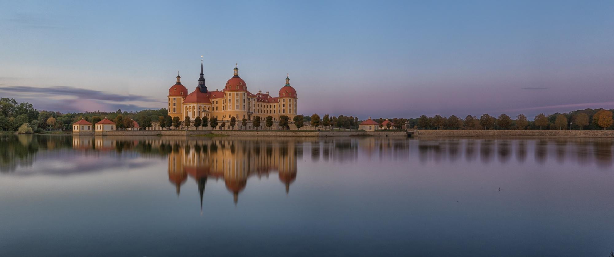 Moritzburg Castle Panorama, Germany