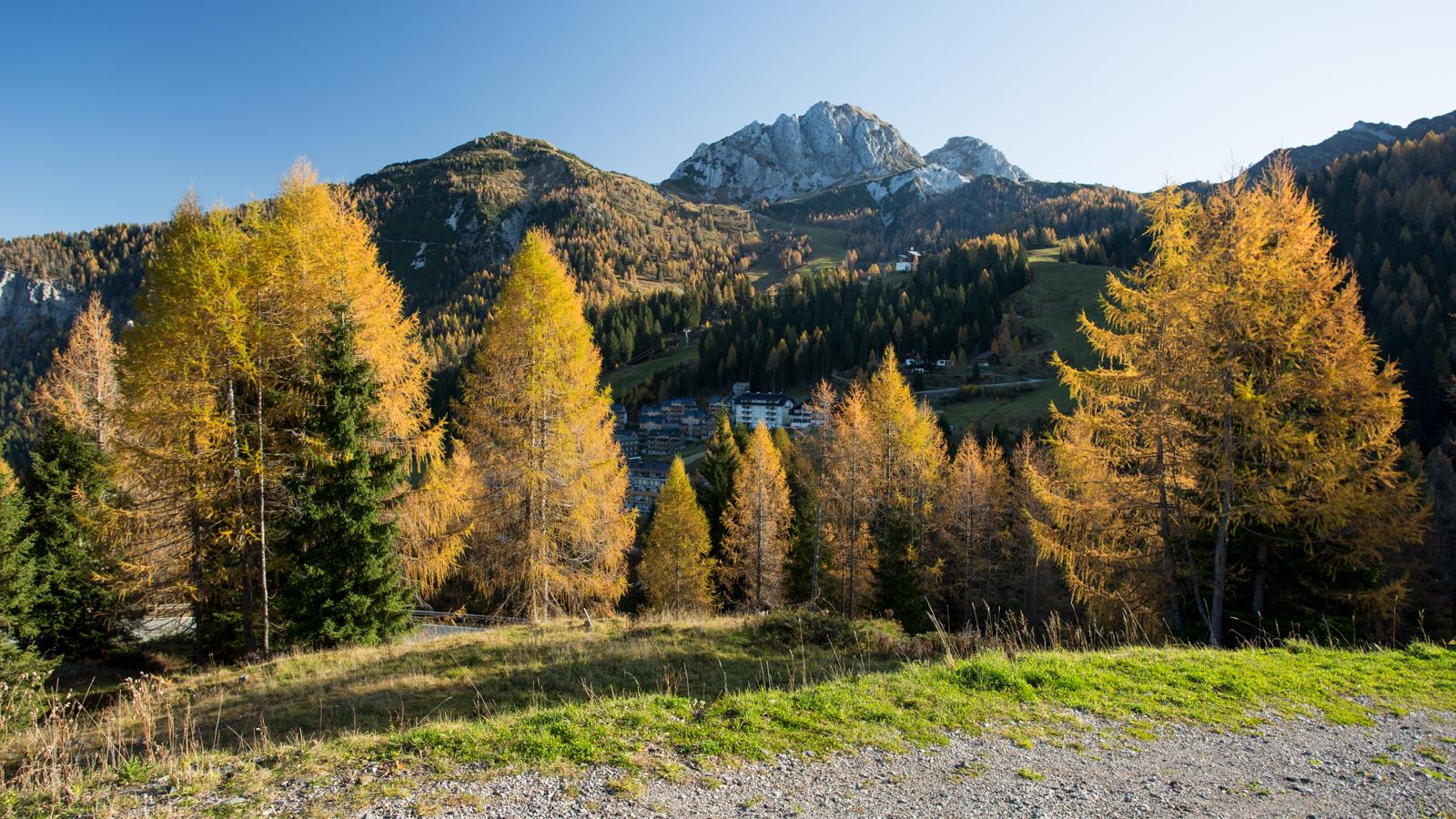 On the way to Nassfeld Pass, Austria