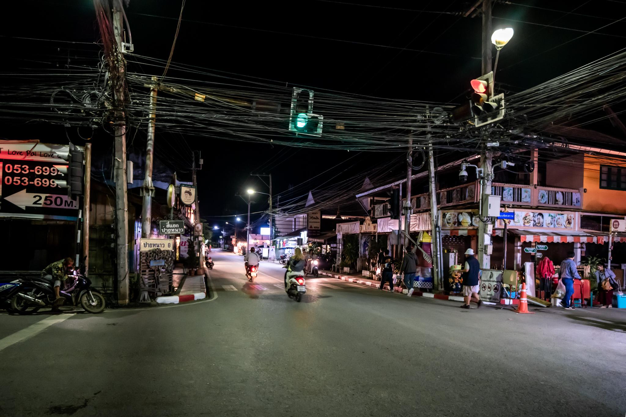 Pai city, Thailand