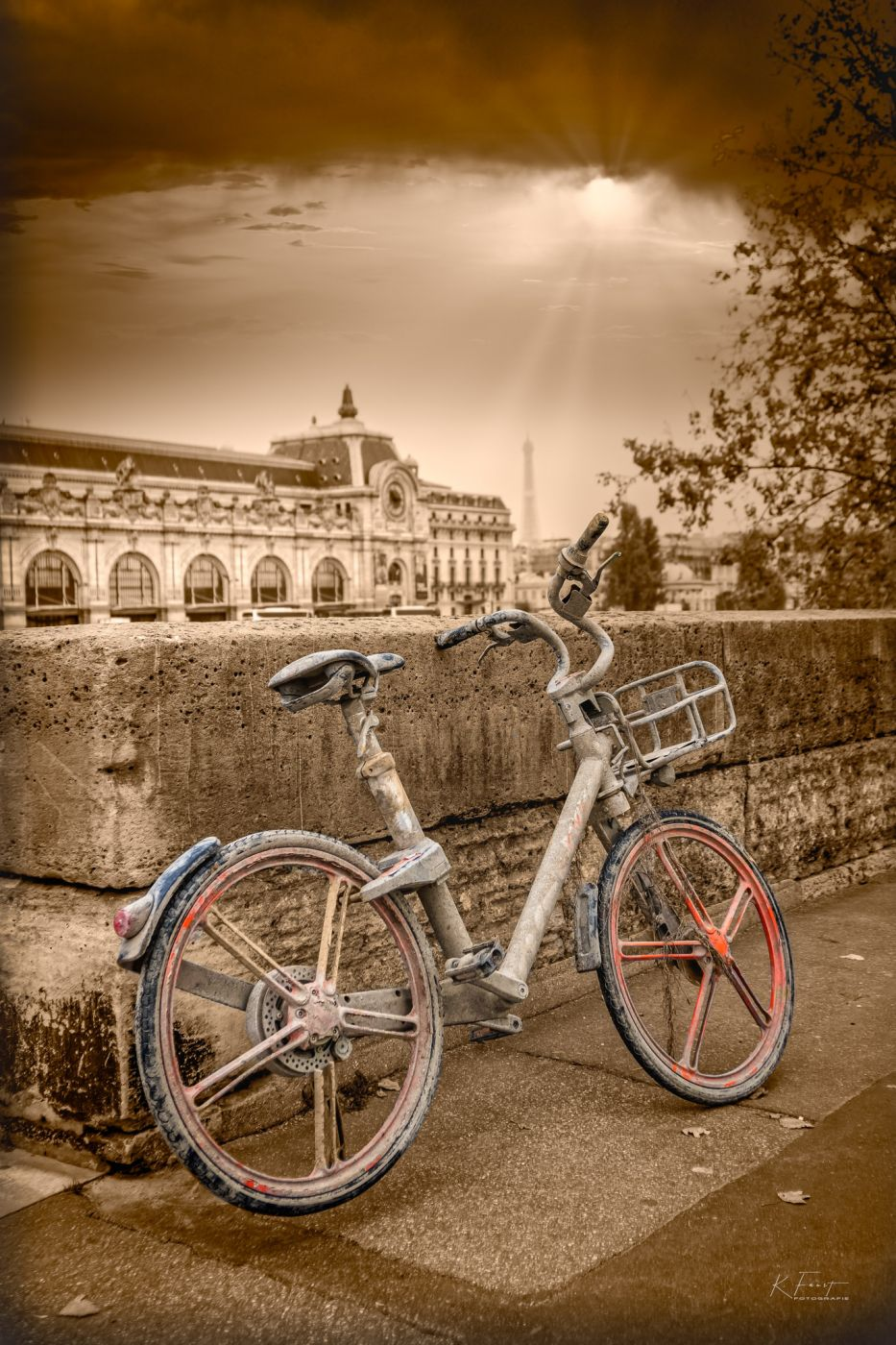 Paris; Pont royal, France