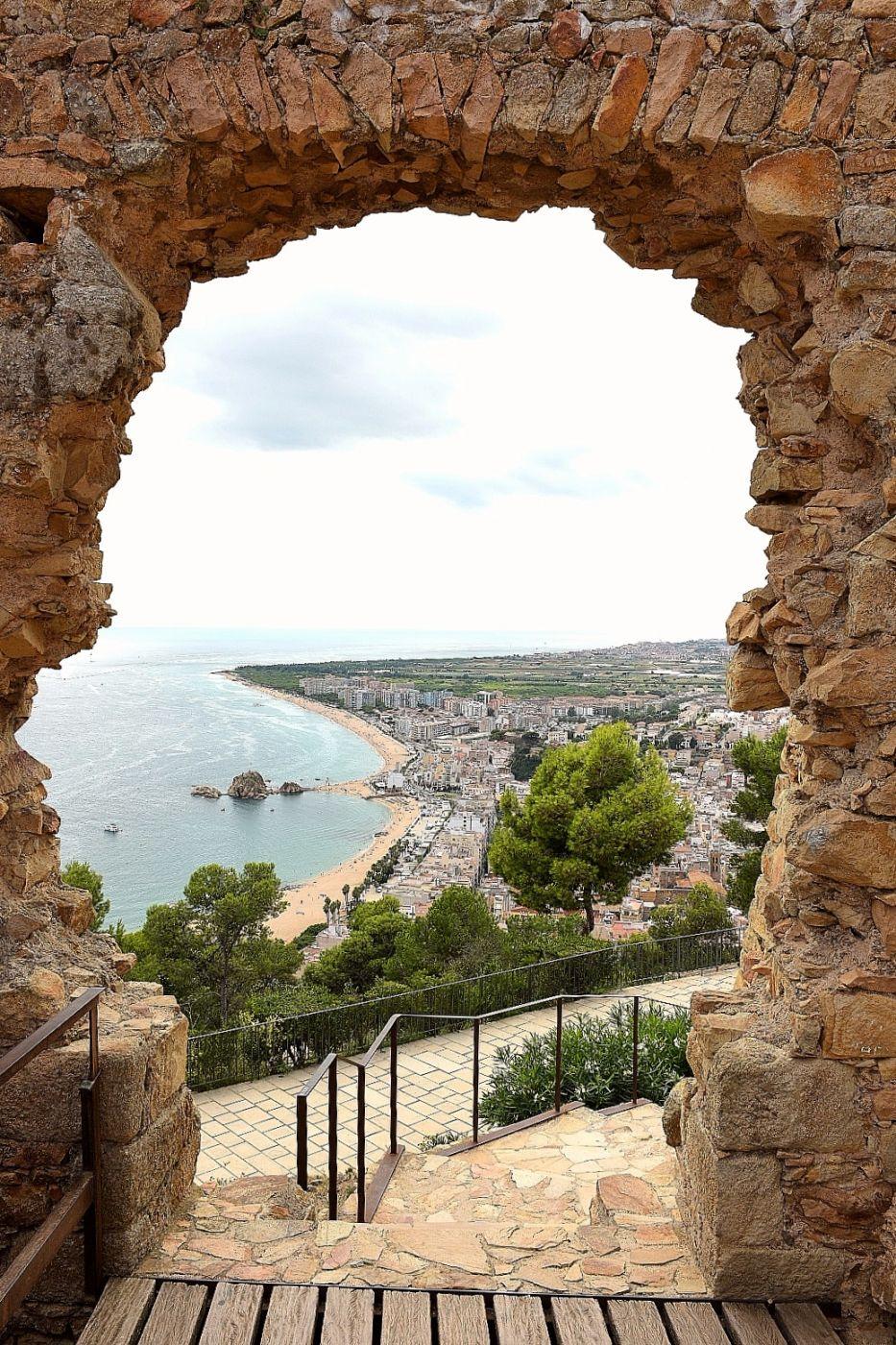 Portal to Costa Brava, Spain