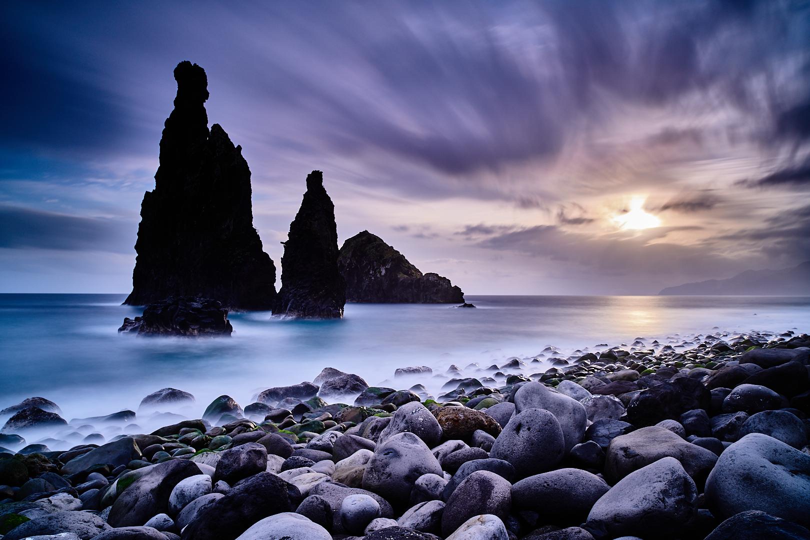 Ribeira da Janela rocks, Portugal