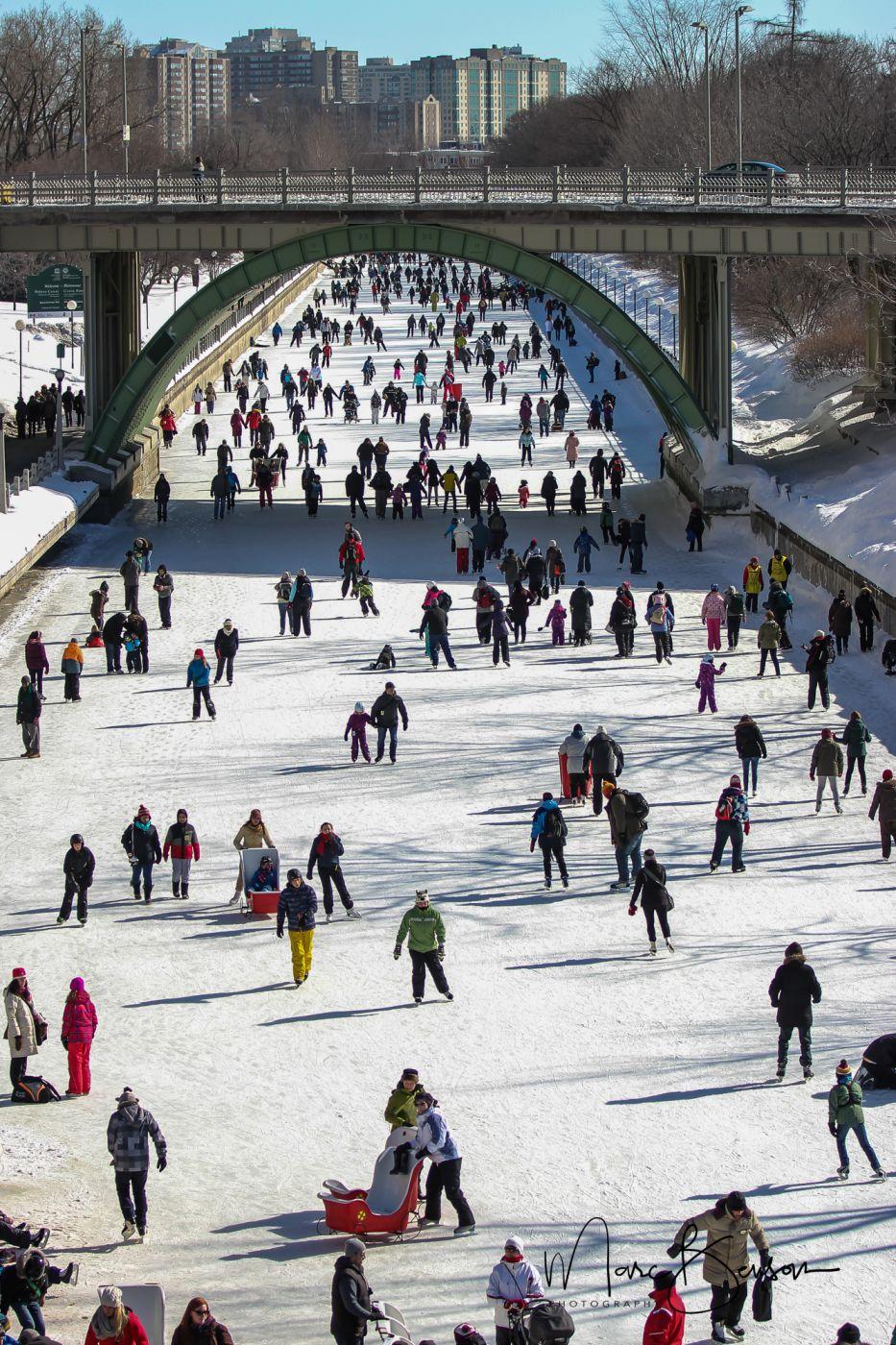 Rideau Canal Skateway, Canada