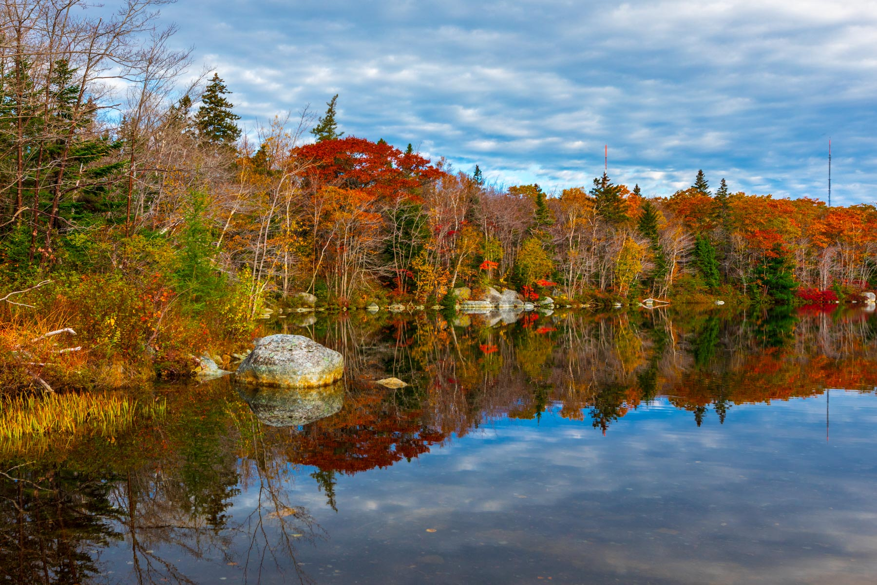 Second Chain Lake, Near Halifax, Noav Scotia, Canada
