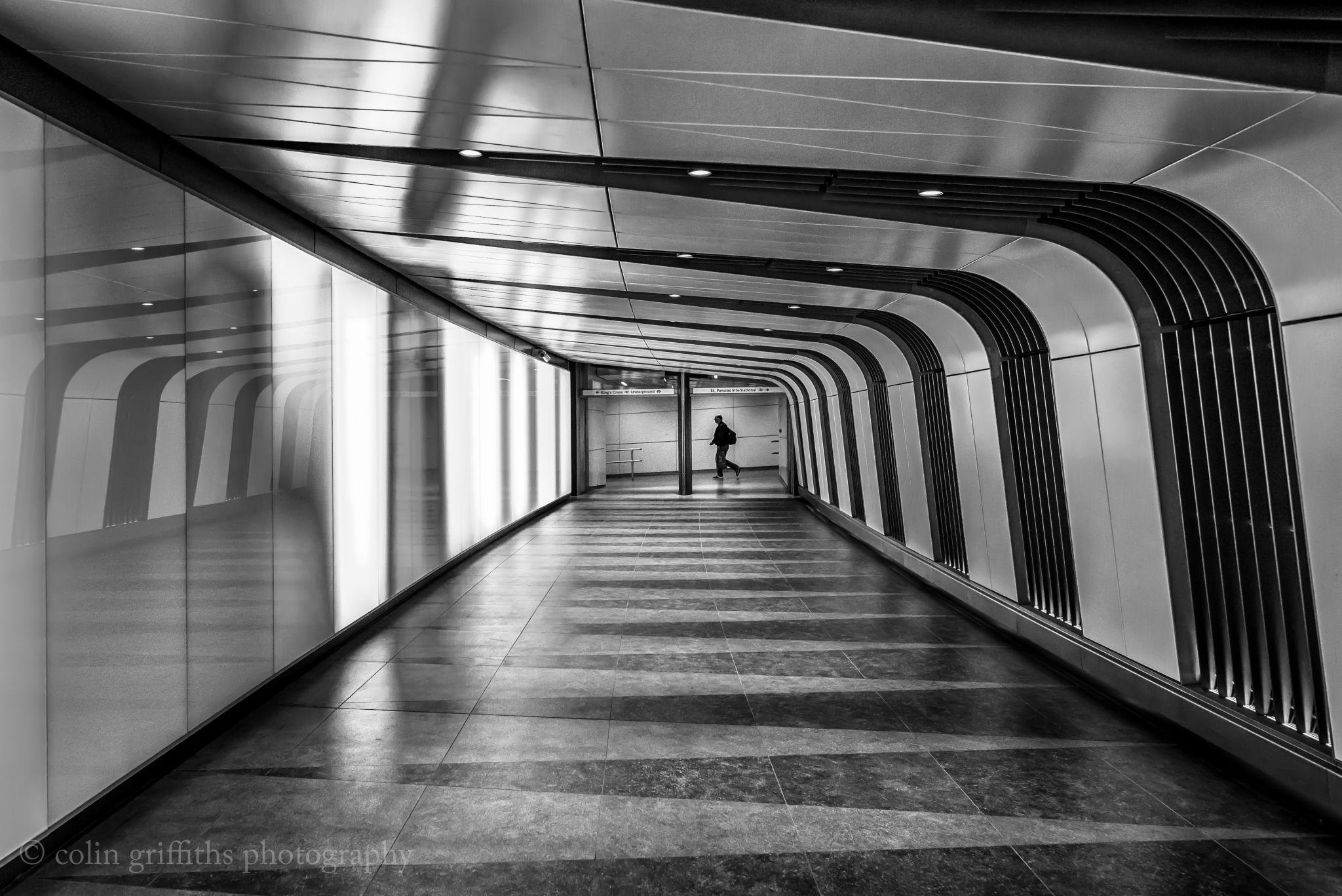 Station passageway, United Kingdom