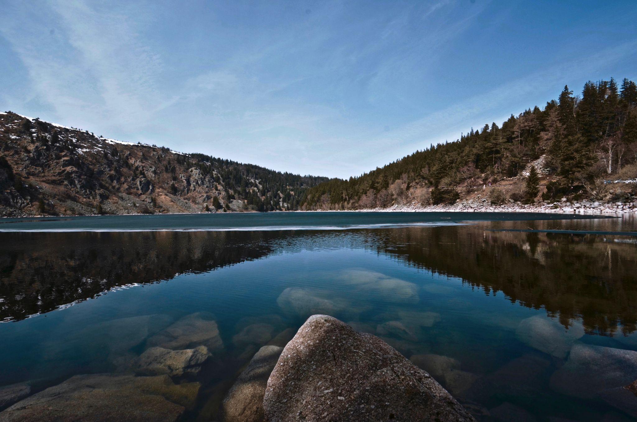 Stone Lake Vosges, France