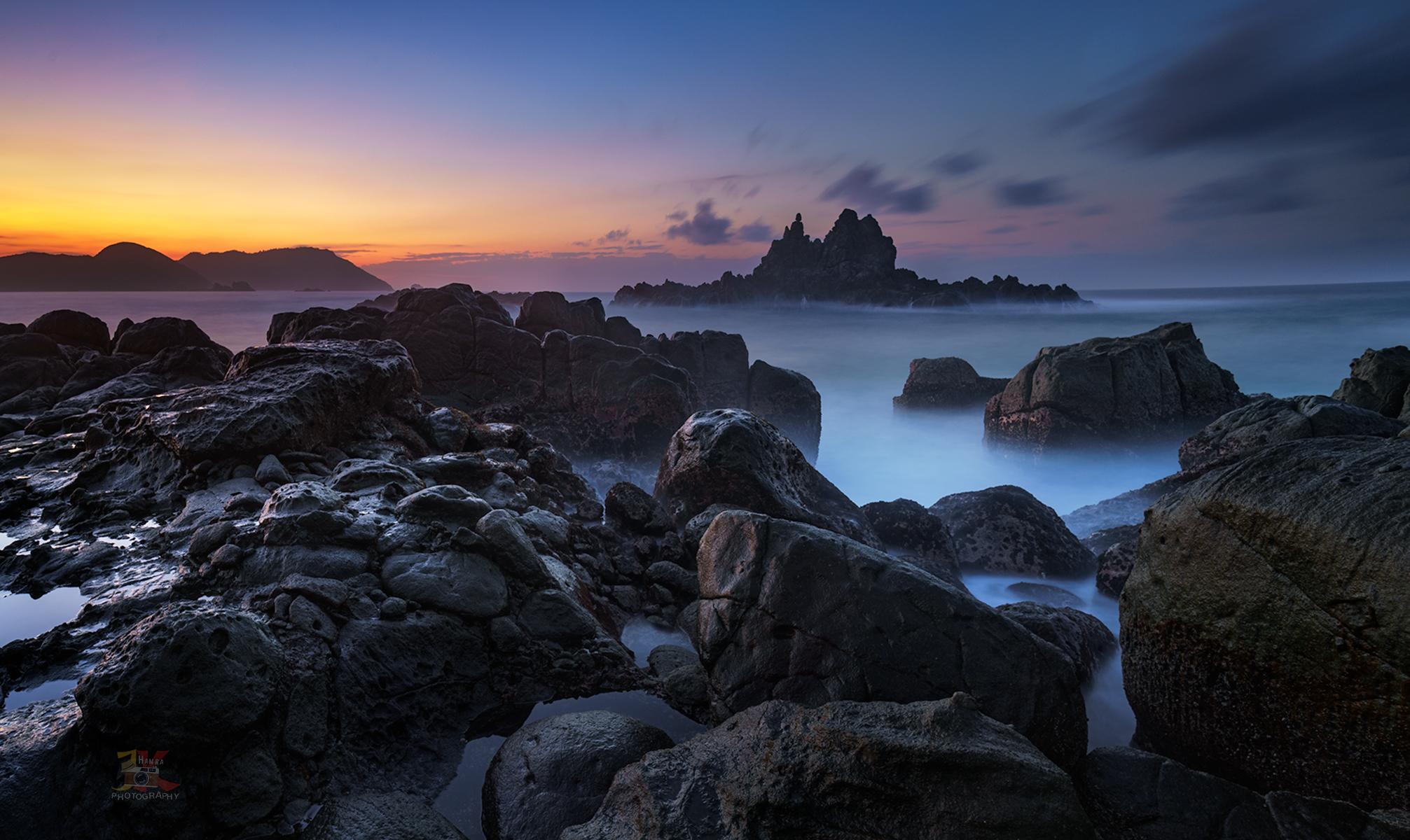 Sunrise at Pantai Jagog Luar, Indonesia