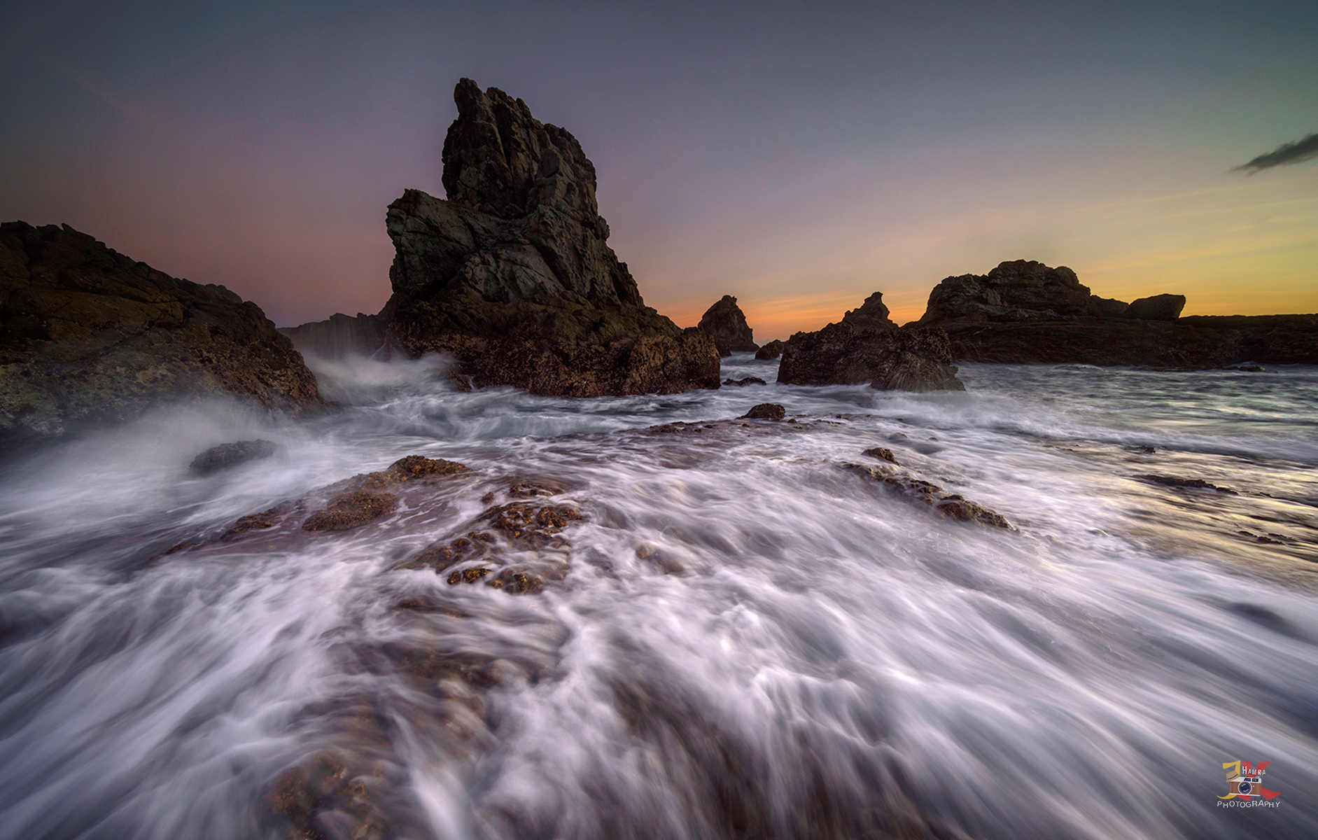 Sunset at Pantai Tampah, Indonesia