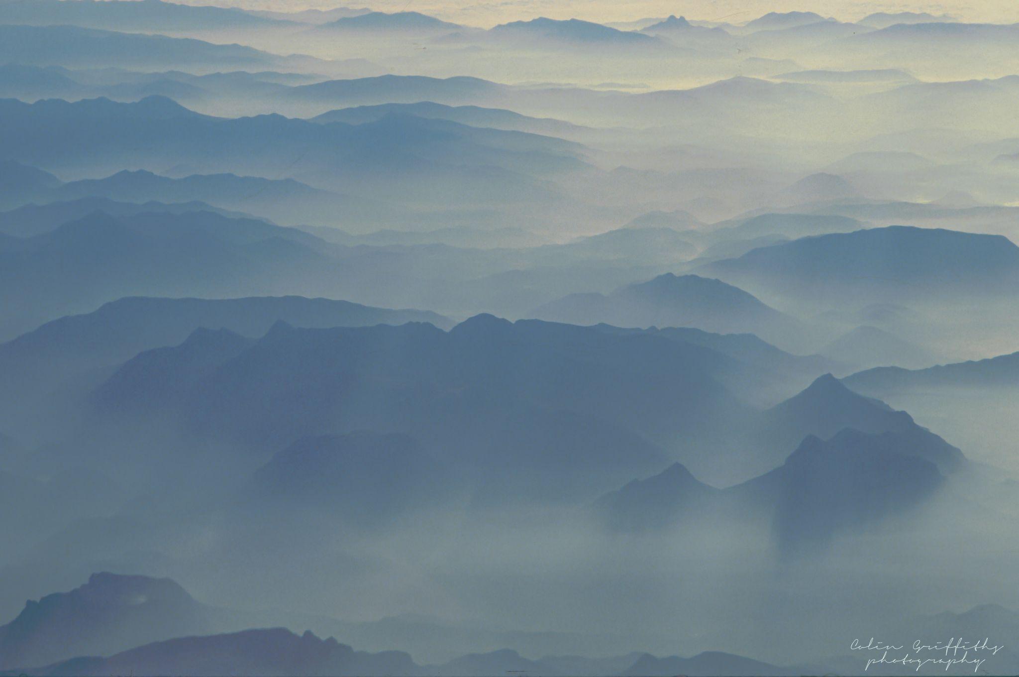 Swiss misty morning, Switzerland