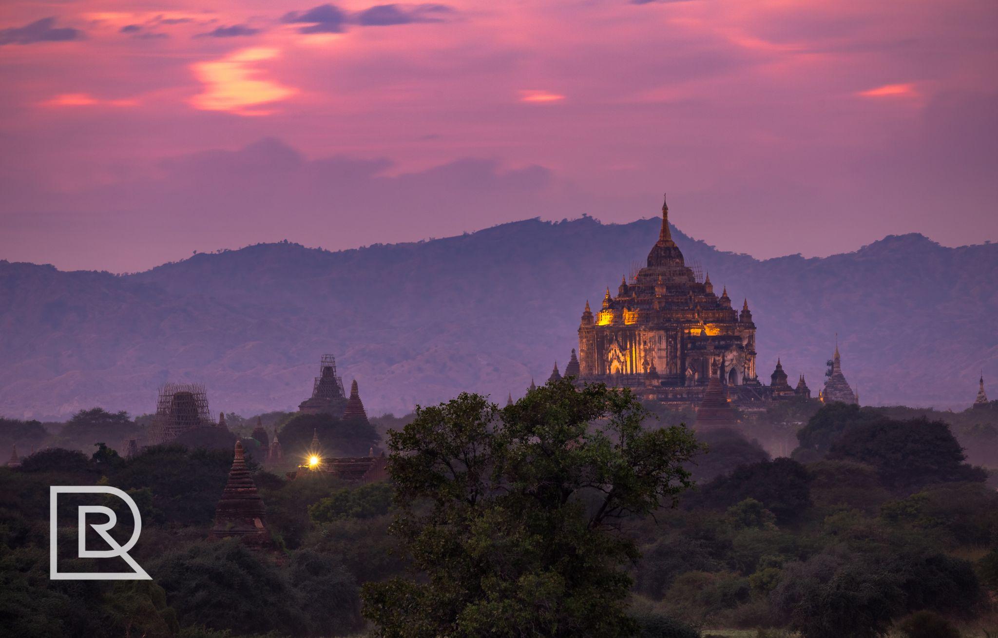Shwegugyi Temple, Old Bagan, Myanmar