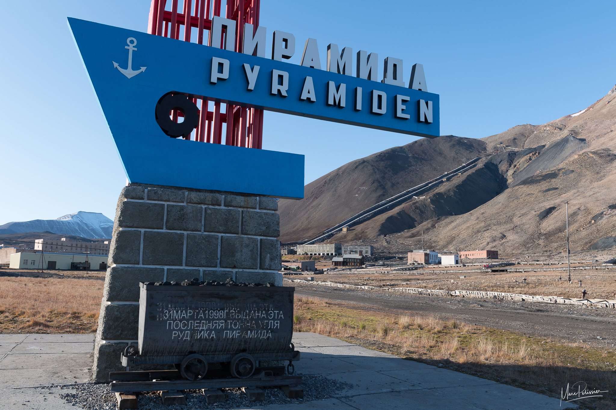The abandoned arctic mining town, Svalbard & Jan Mayen Islands