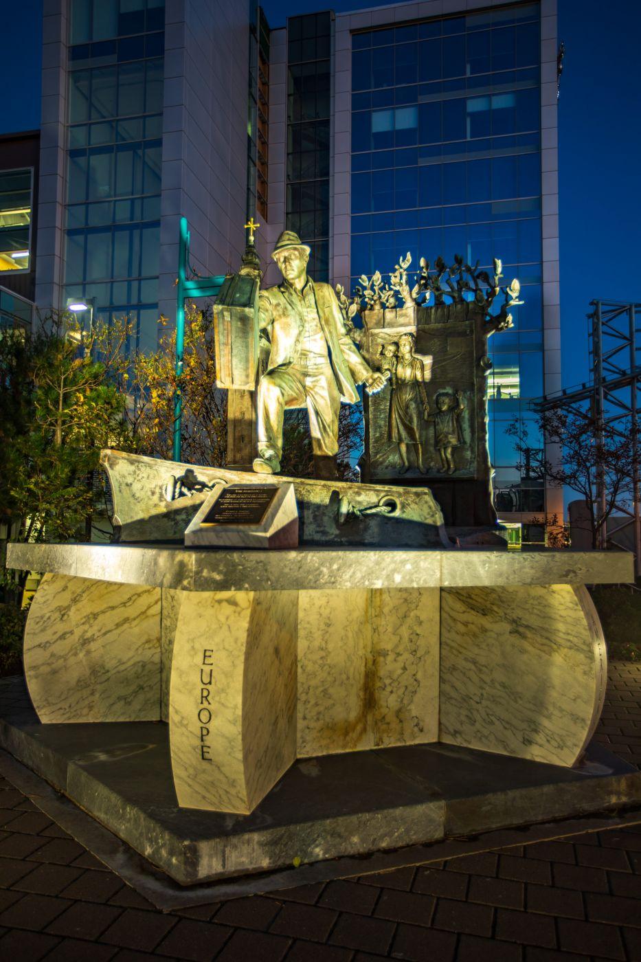 The Emigrant Statue Halifax, Nova Scotia, Canada
