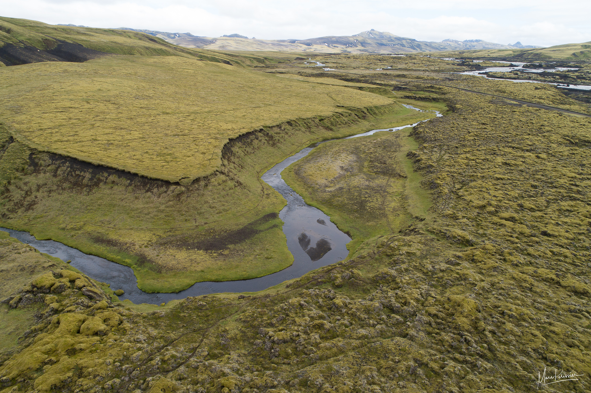 The heart river, Iceland