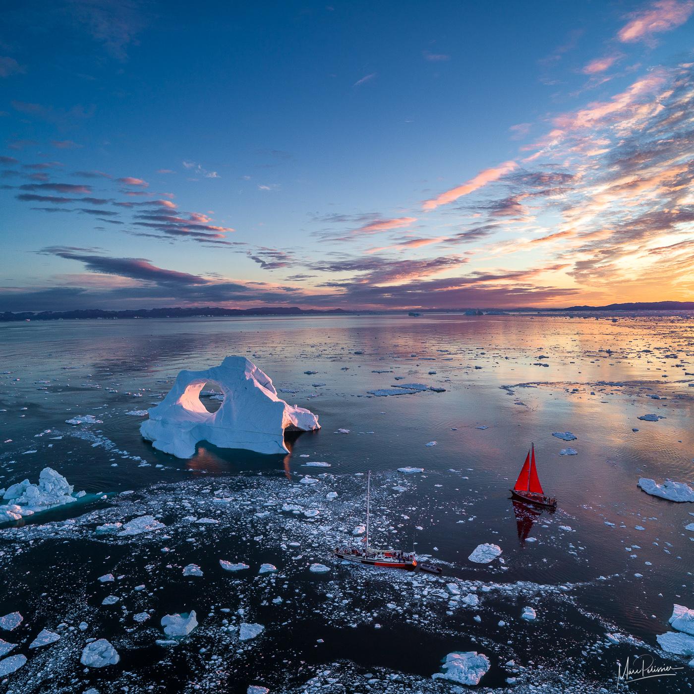 The ice skull, Greenland