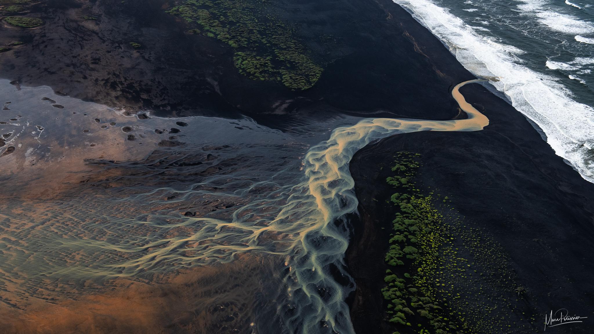 The snake river, Iceland