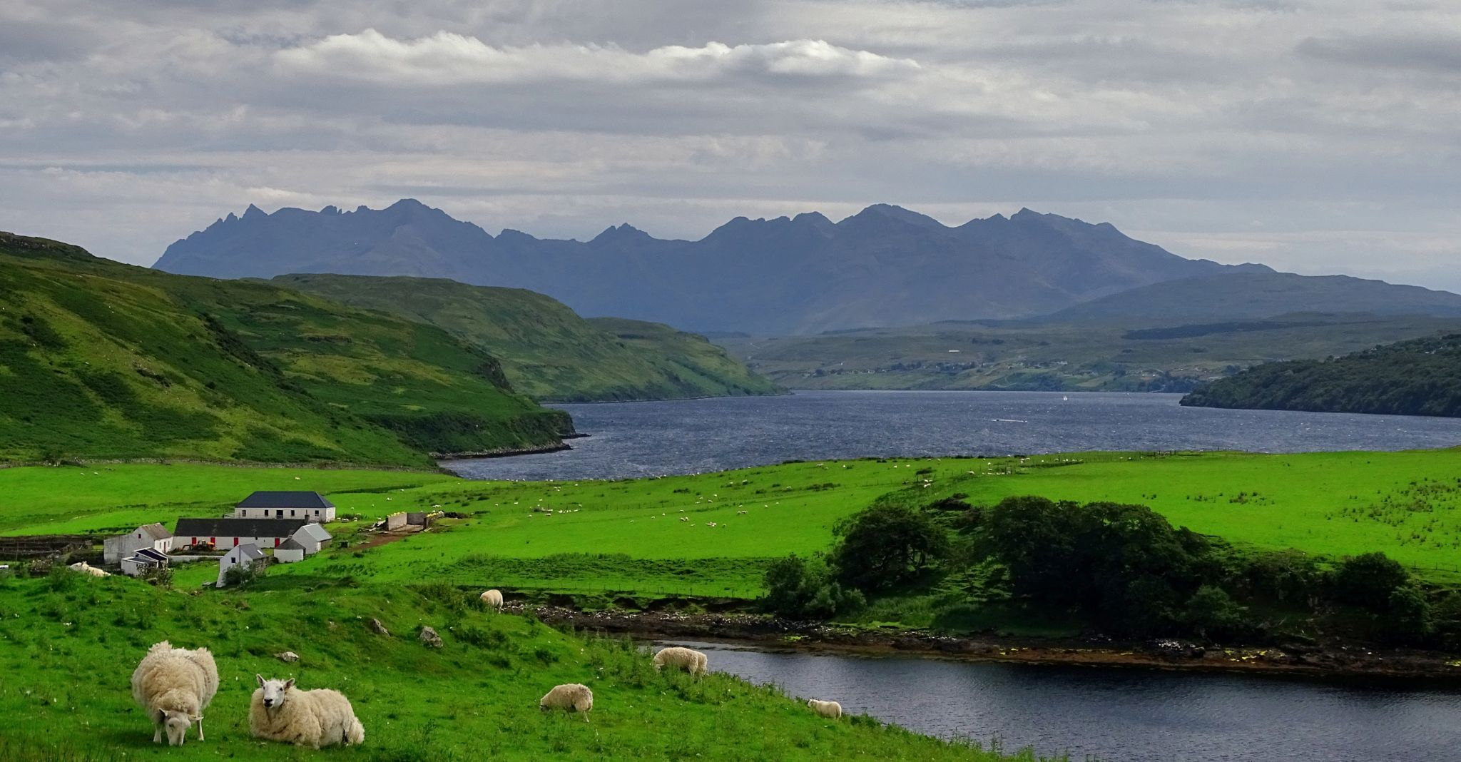 View over the Black Cuillins, United Kingdom