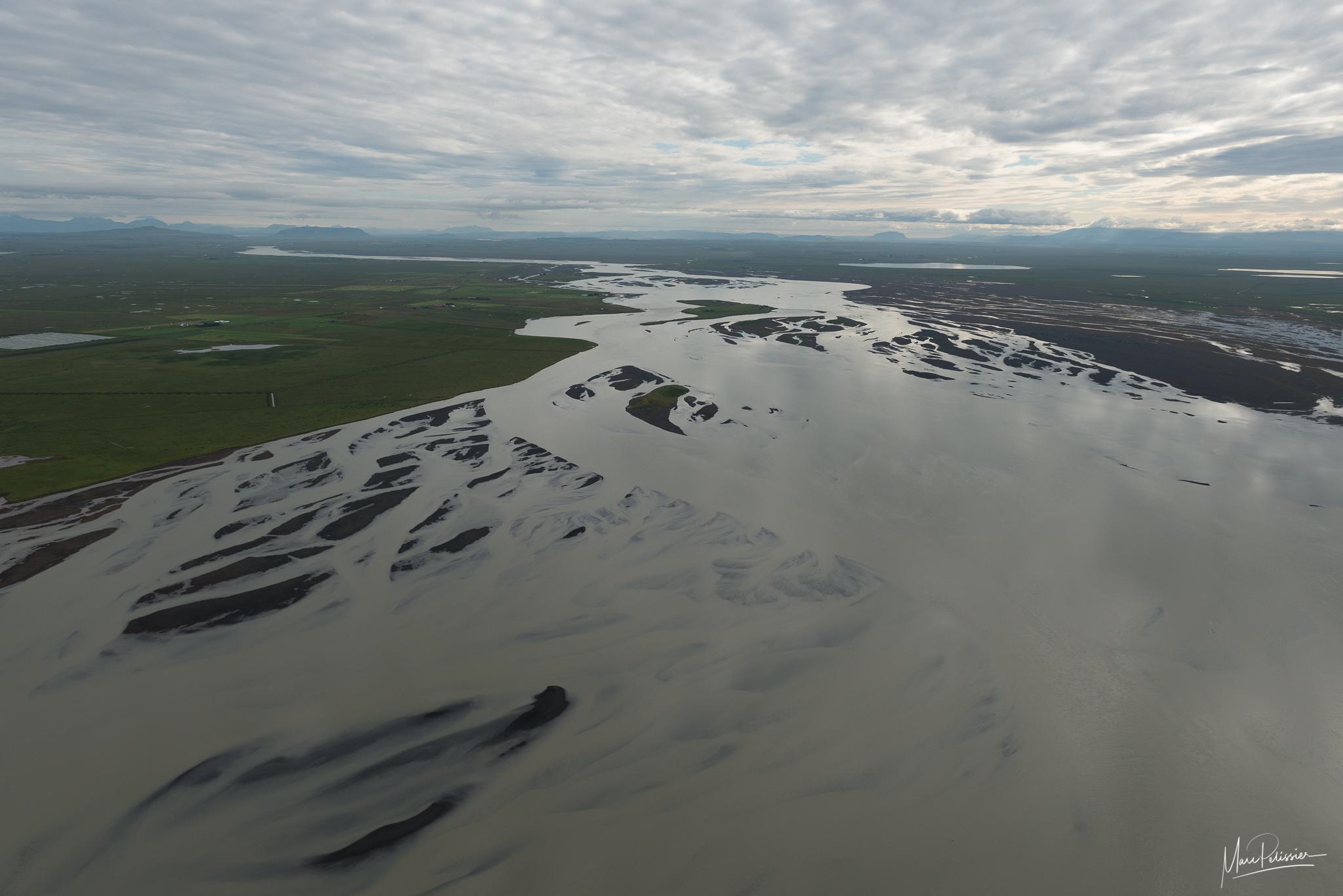 Villingahot river end, Iceland