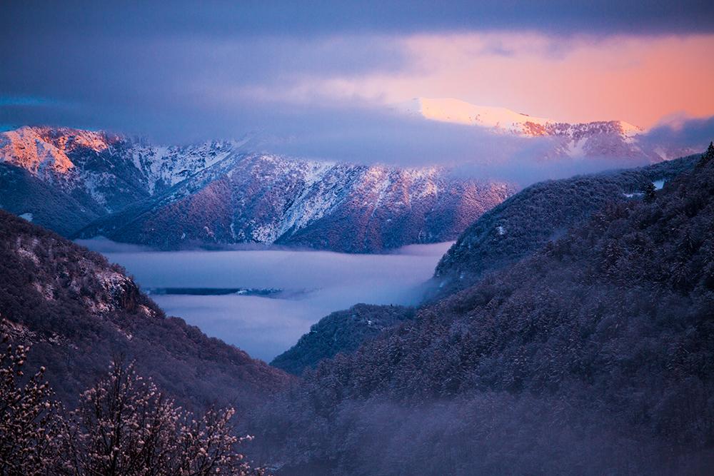 Winter im Tessin, Switzerland