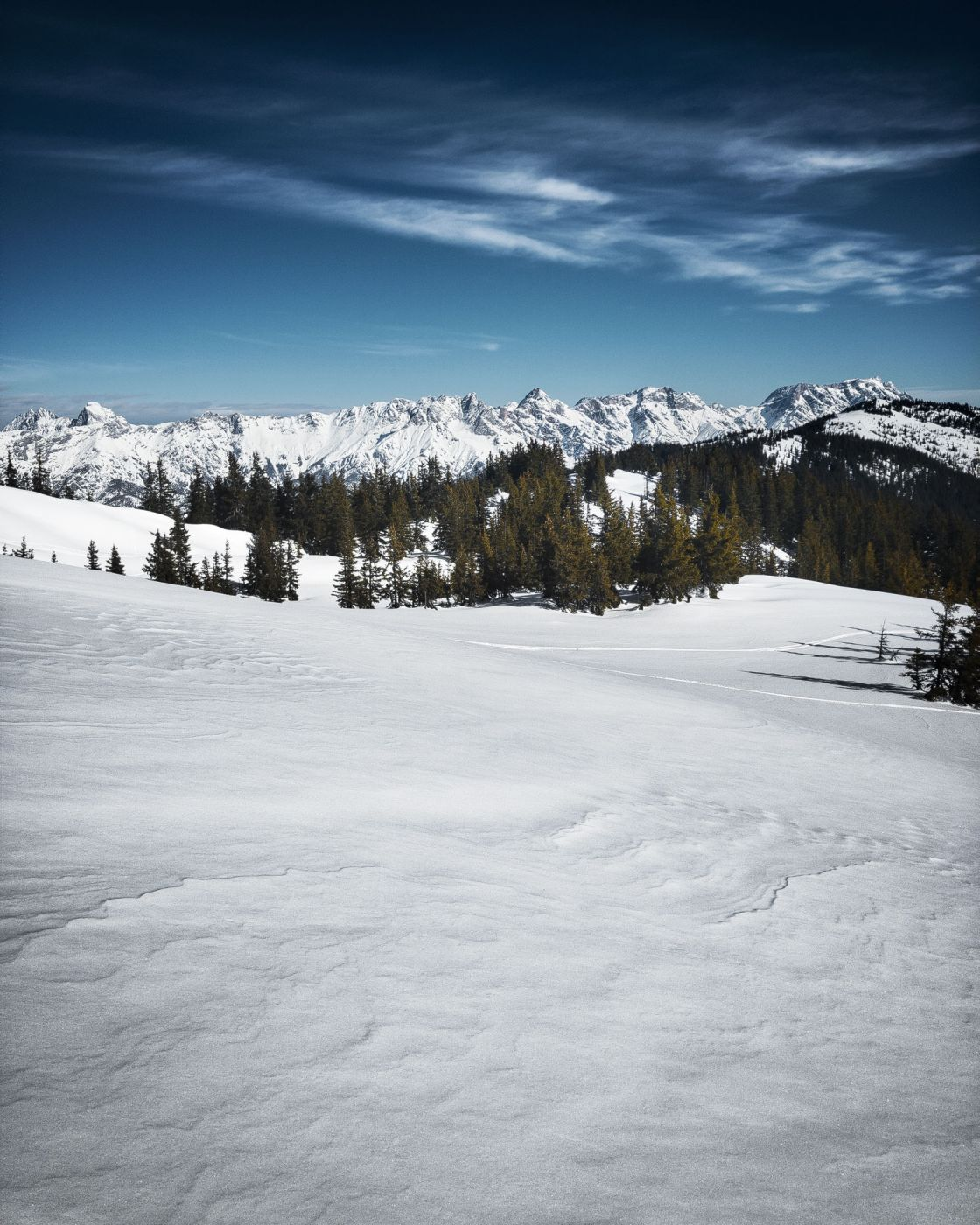 Winter View, Austria