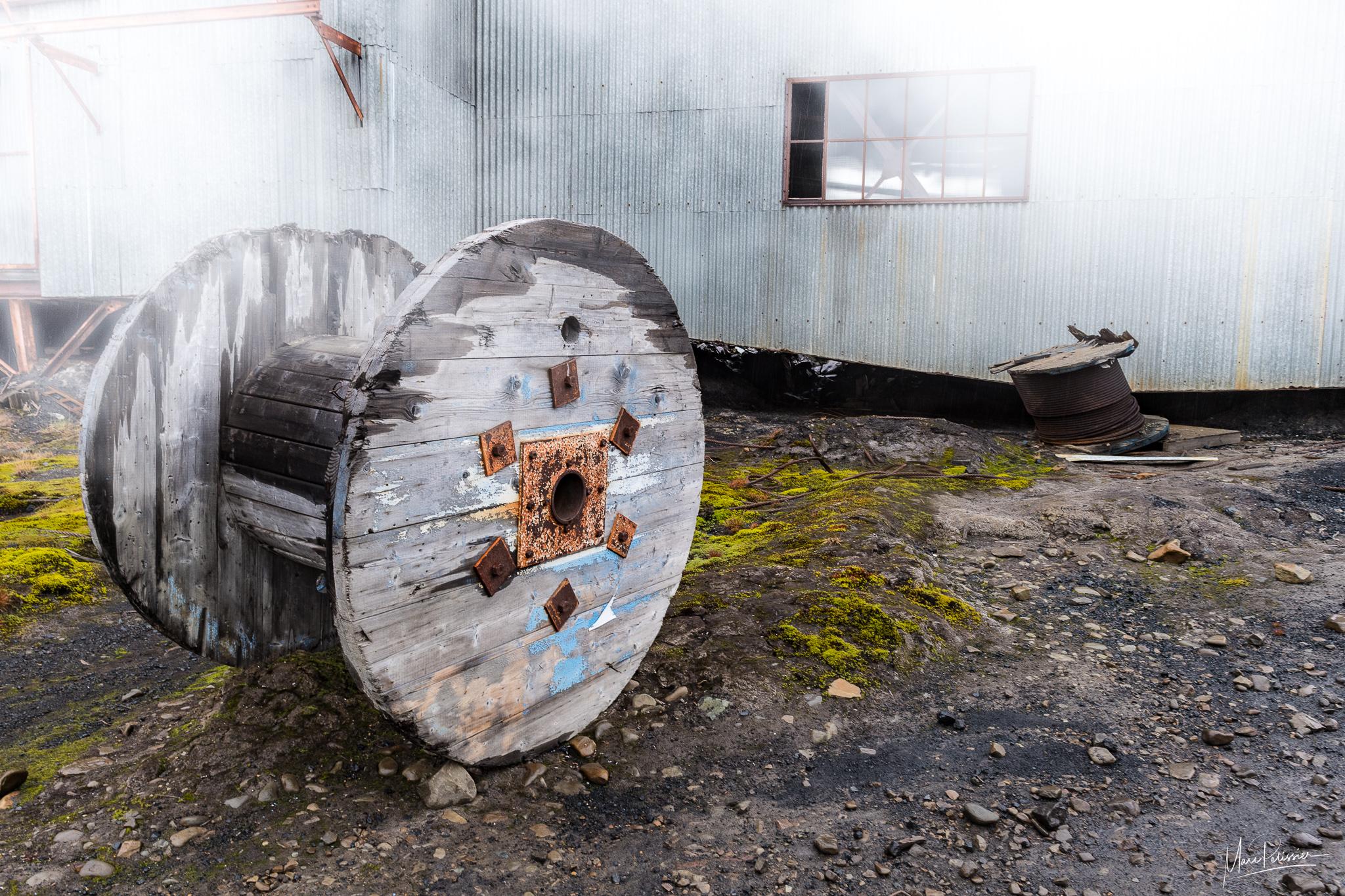Abandonned arctic mine, Svalbard & Jan Mayen Islands