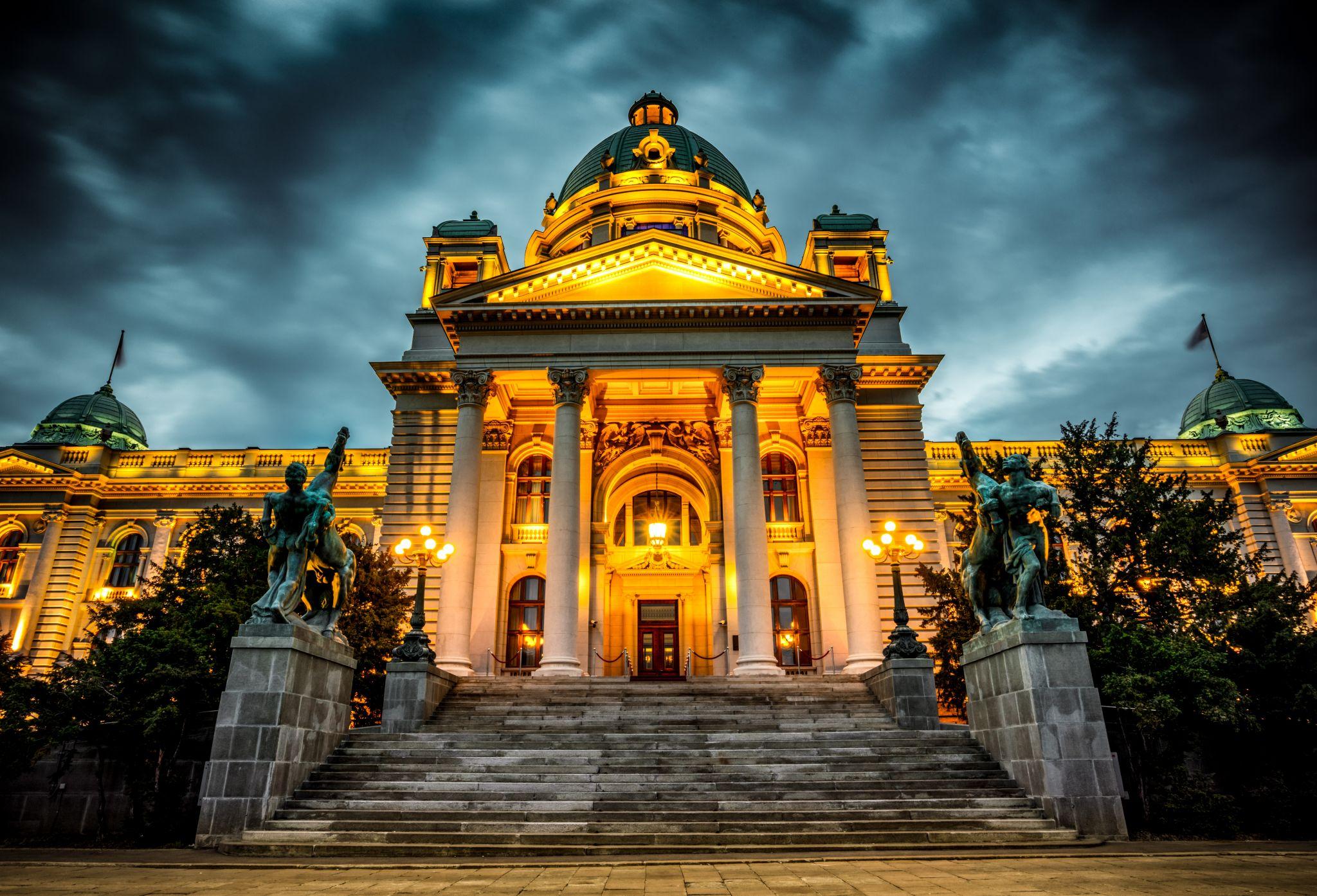 Belgrade Parliament Building, Serbia