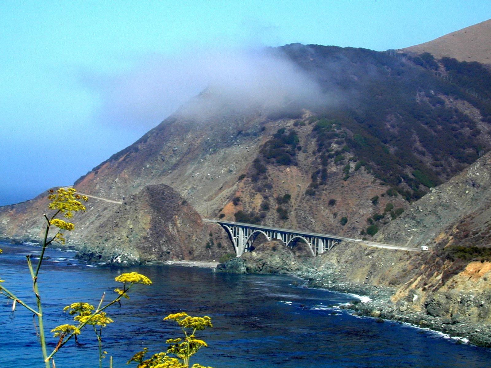 Big Sur coastal drive, USA