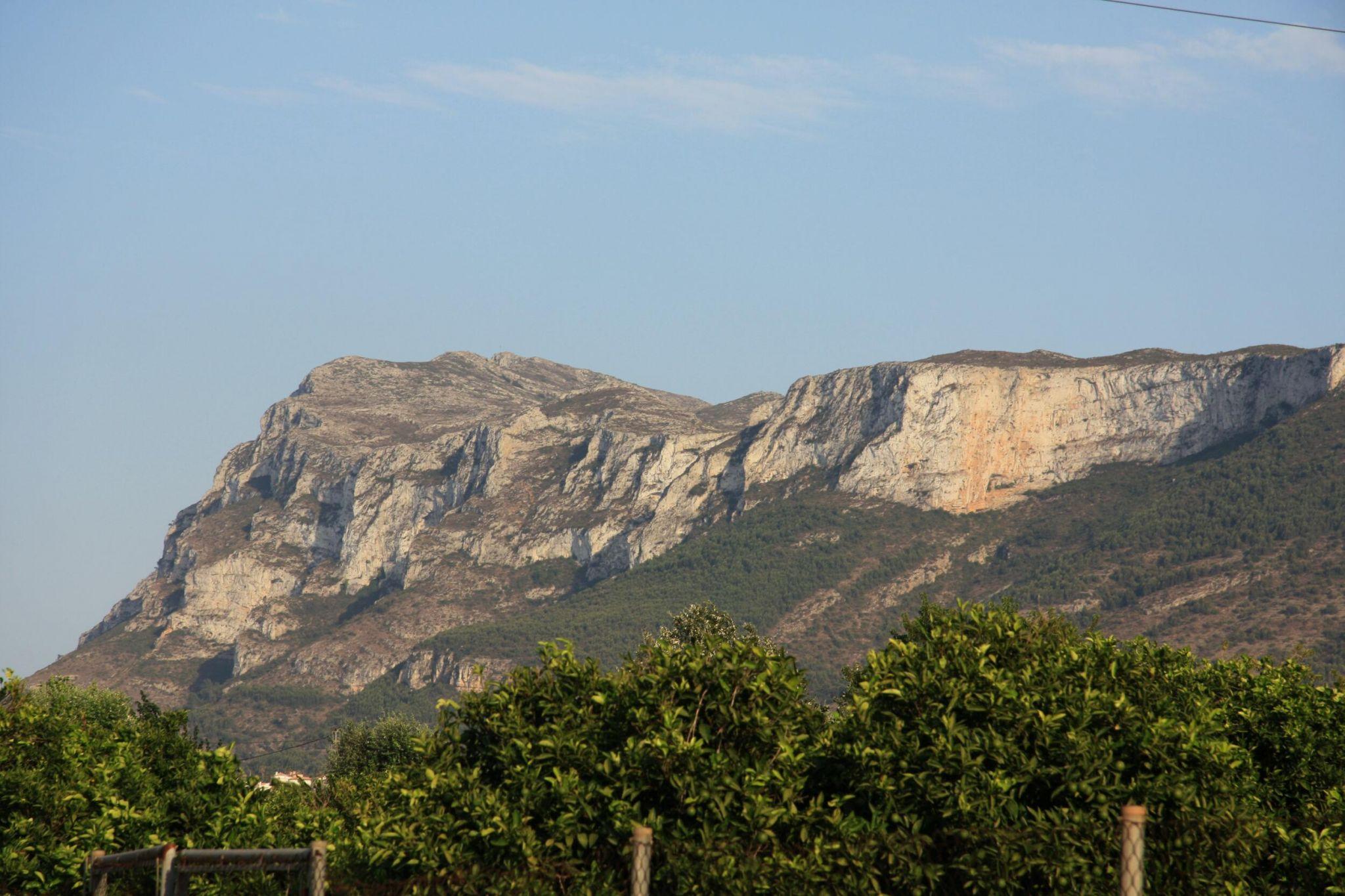 Blick auf den Montgó, Spain