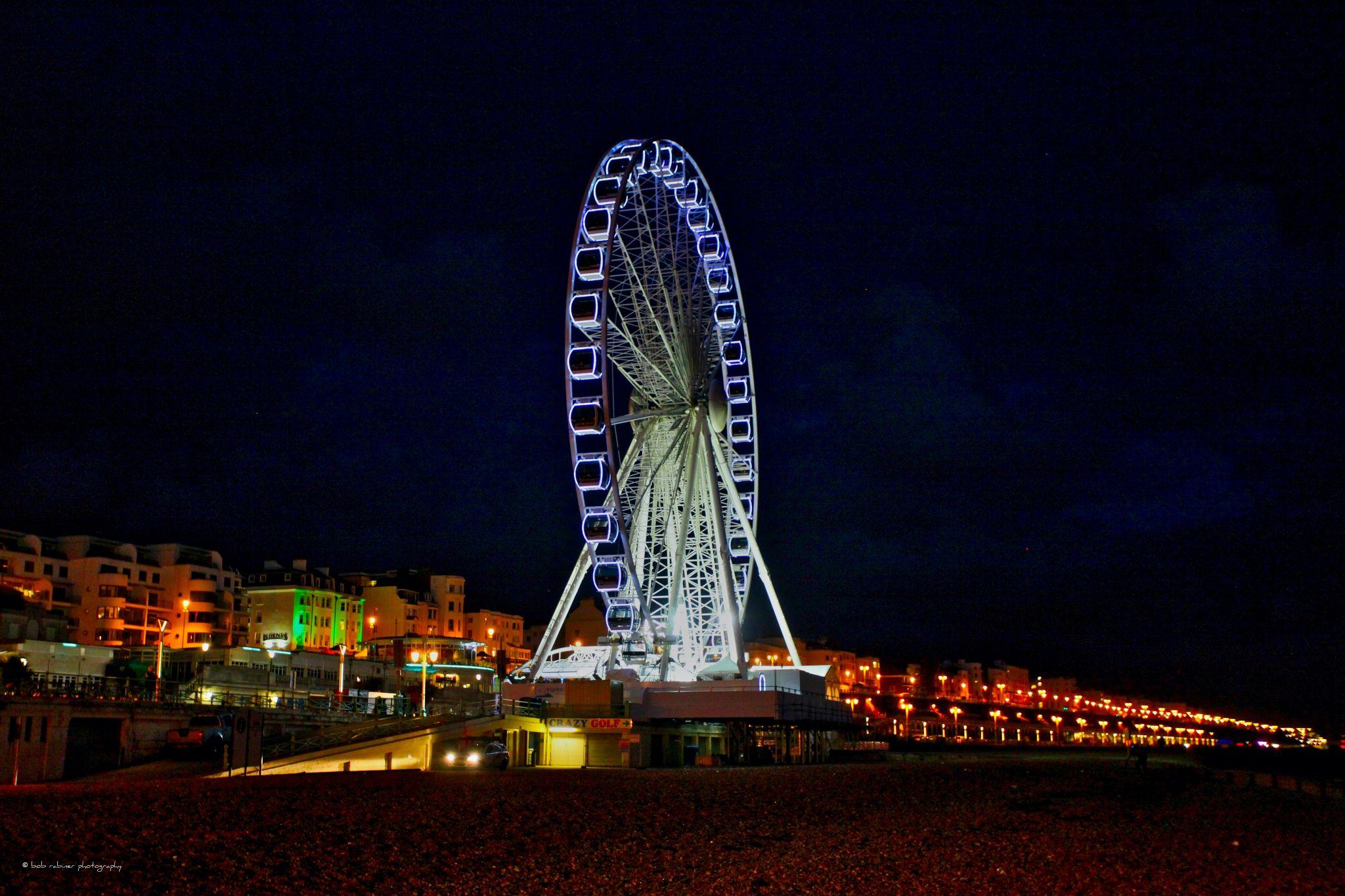 Brighton Pier Ferris Wheel, United Kingdom