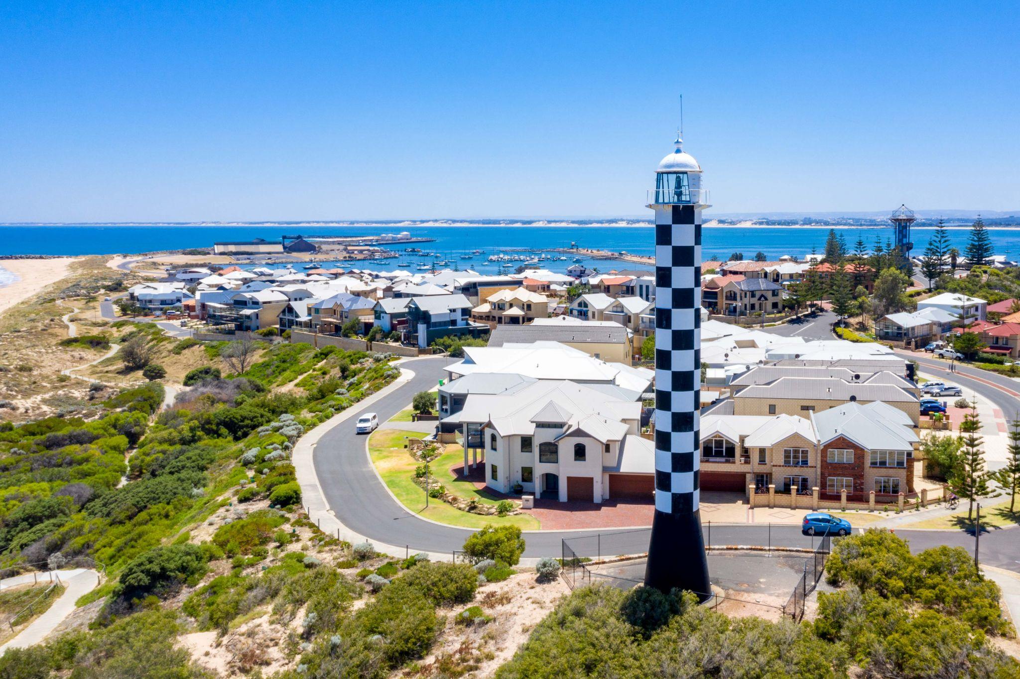 Bunbury Lighthouse, south coast, Western Australia, Australia