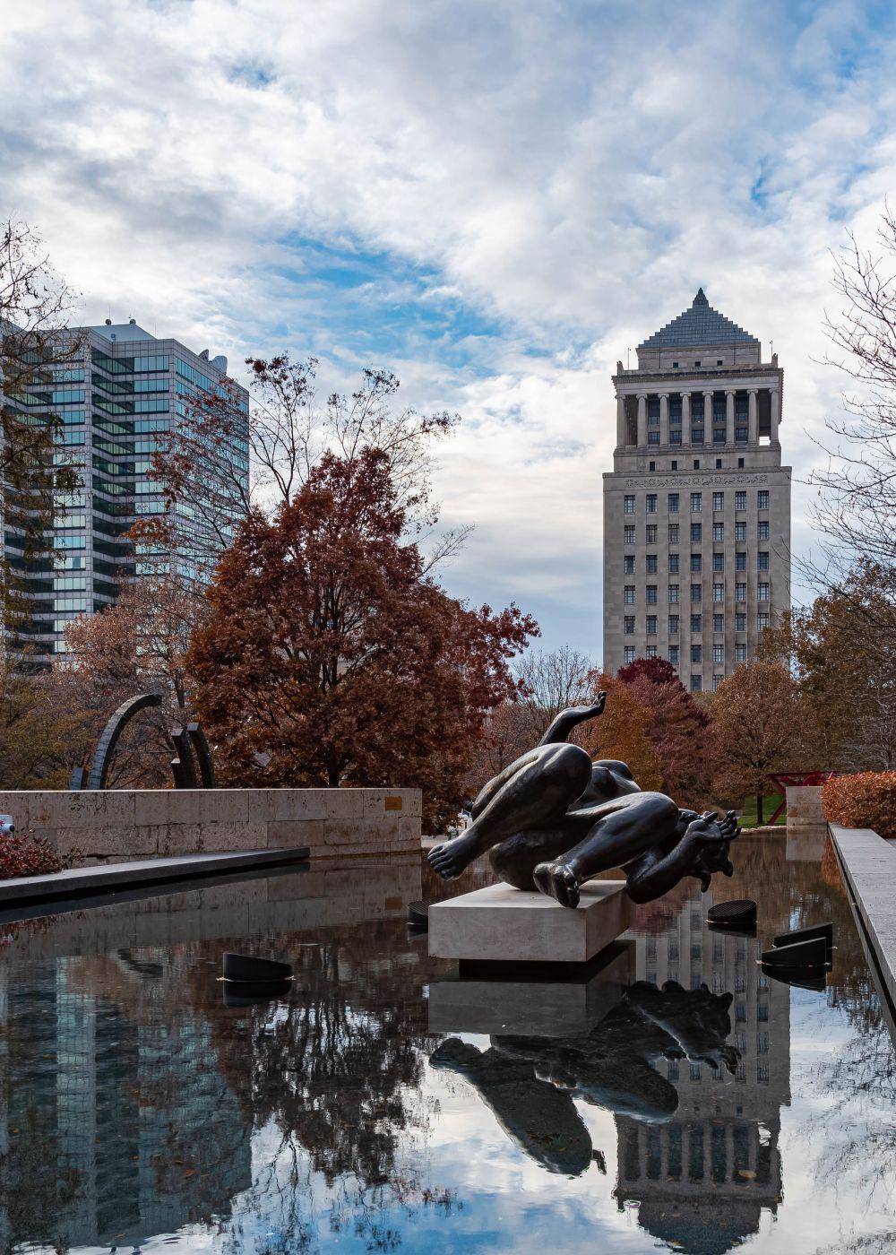 Citygarden Sculpture Par, USA