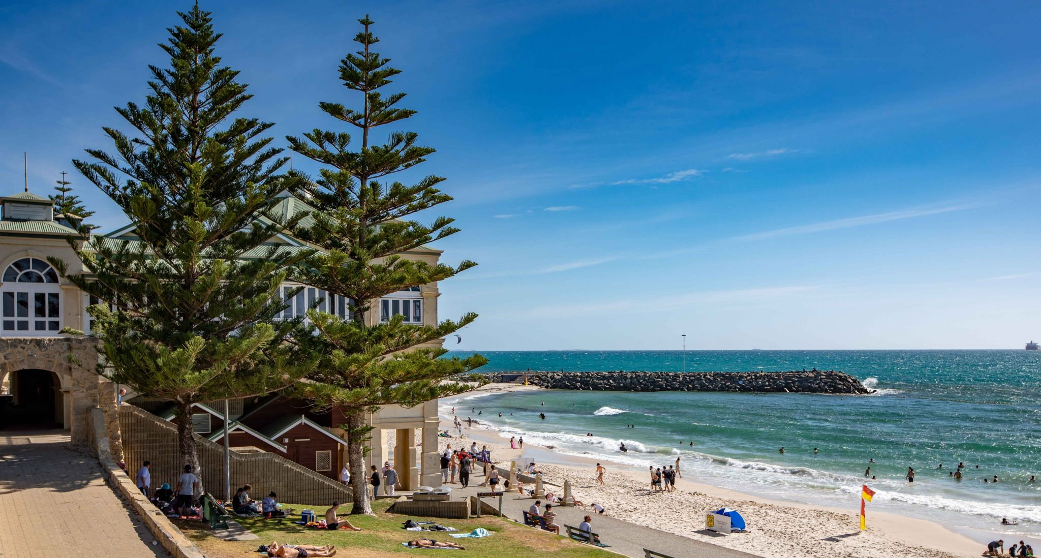 Cottesloe Beach & Groin Perth, Western Australia, Australia