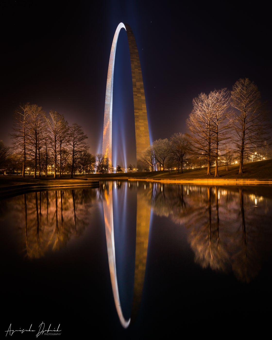 Gateway Arch National Park, St. Louis, MO, USA