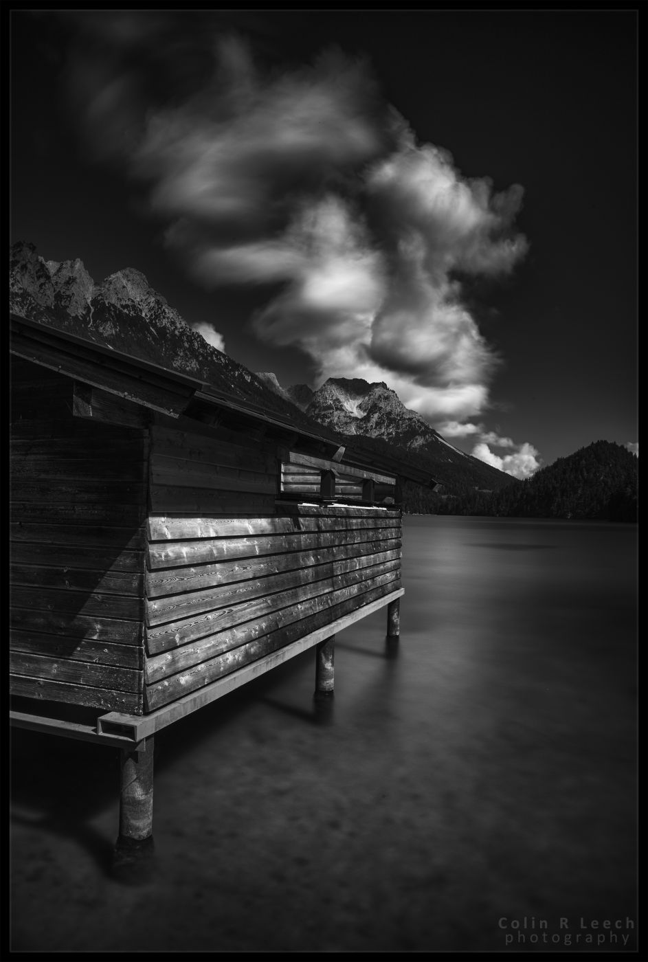 Hintersteiner See Boathouse, Austria