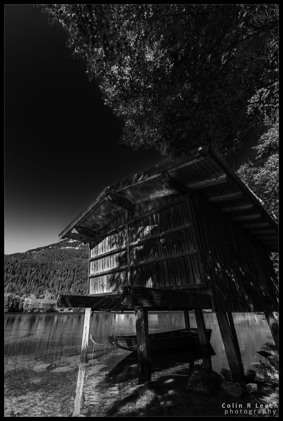 Hintersteiner See Boathouse, Austria