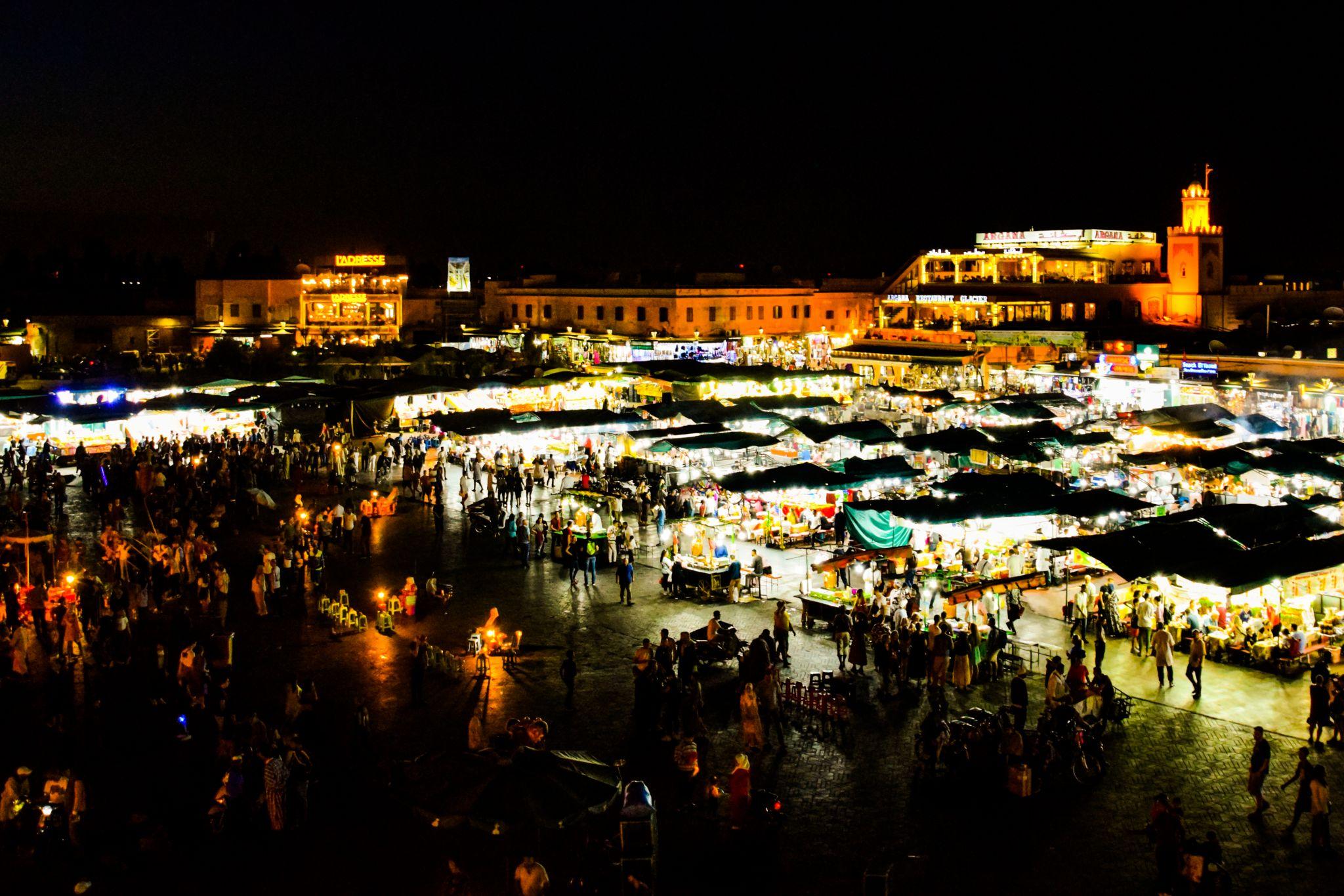 Jemaa el Fnaa square, Morocco