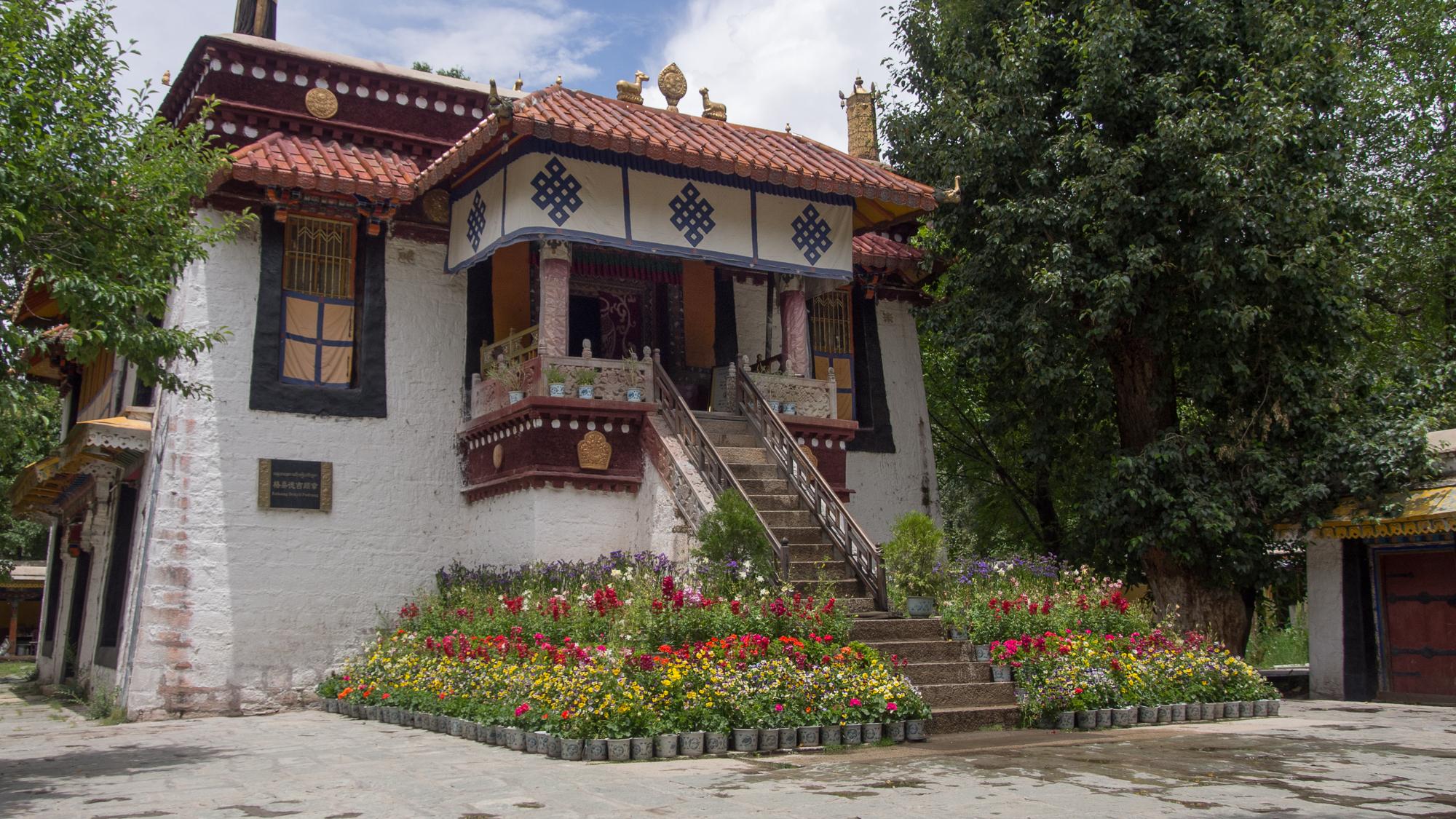 Kalsang Dekyil Palace, China