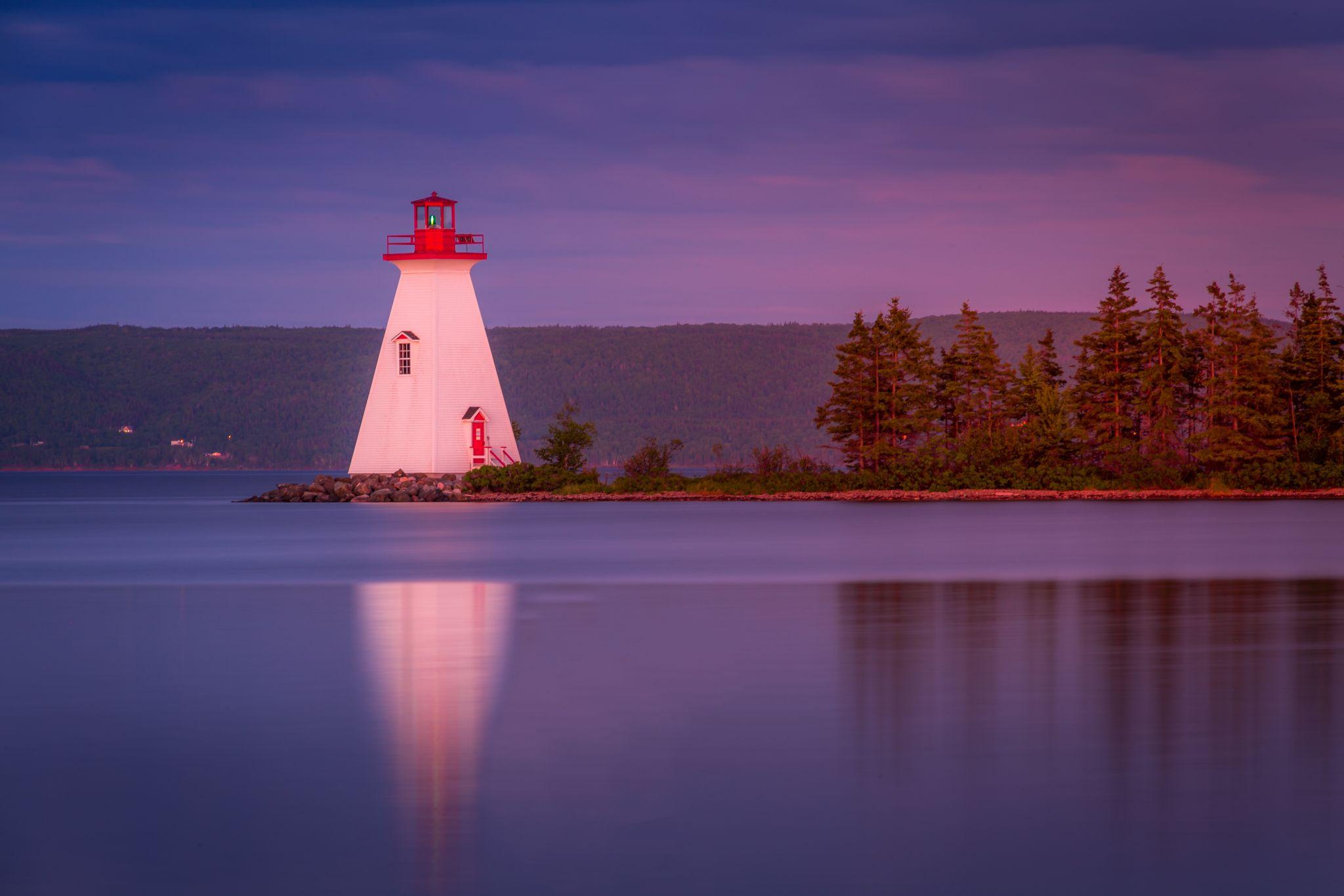 Kidston Island Lighthouse, Canada